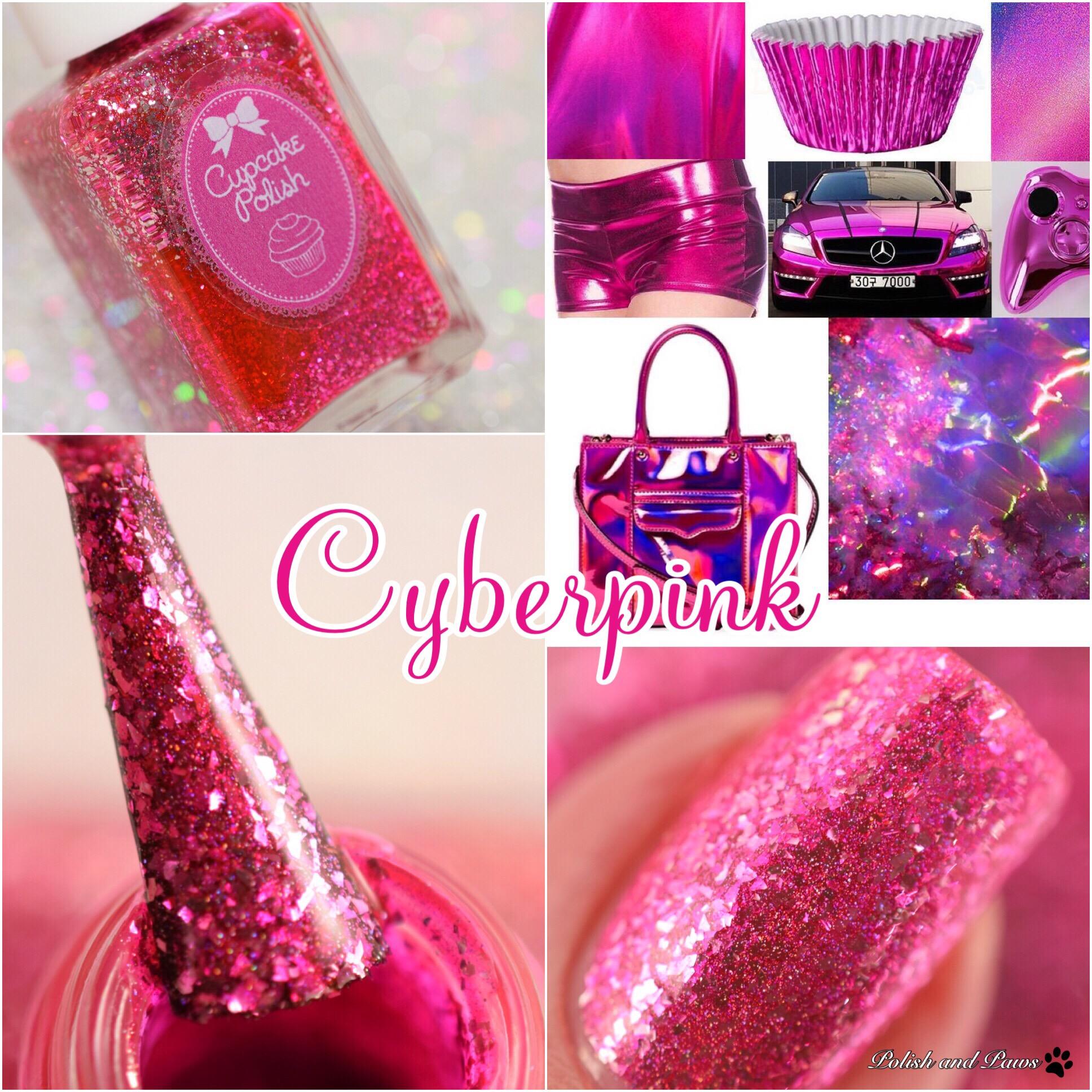 Cupcake Polish Cyberpink