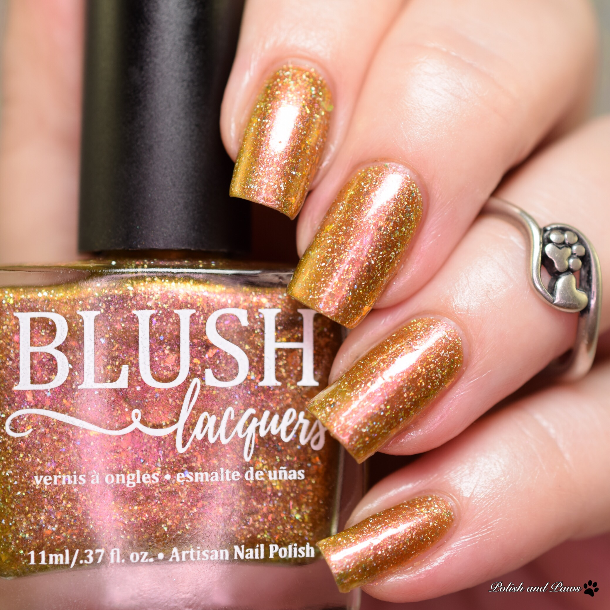 Blush Lacquers Gilded Fawn