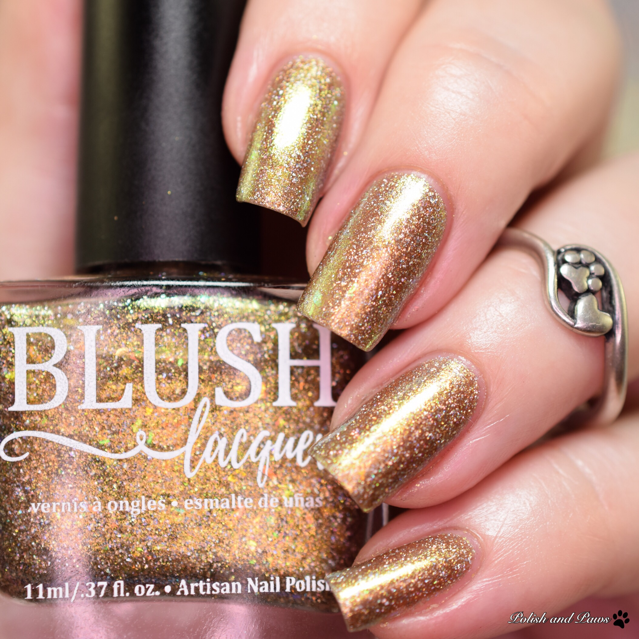 Blush Lacquers Rose Gold Garden