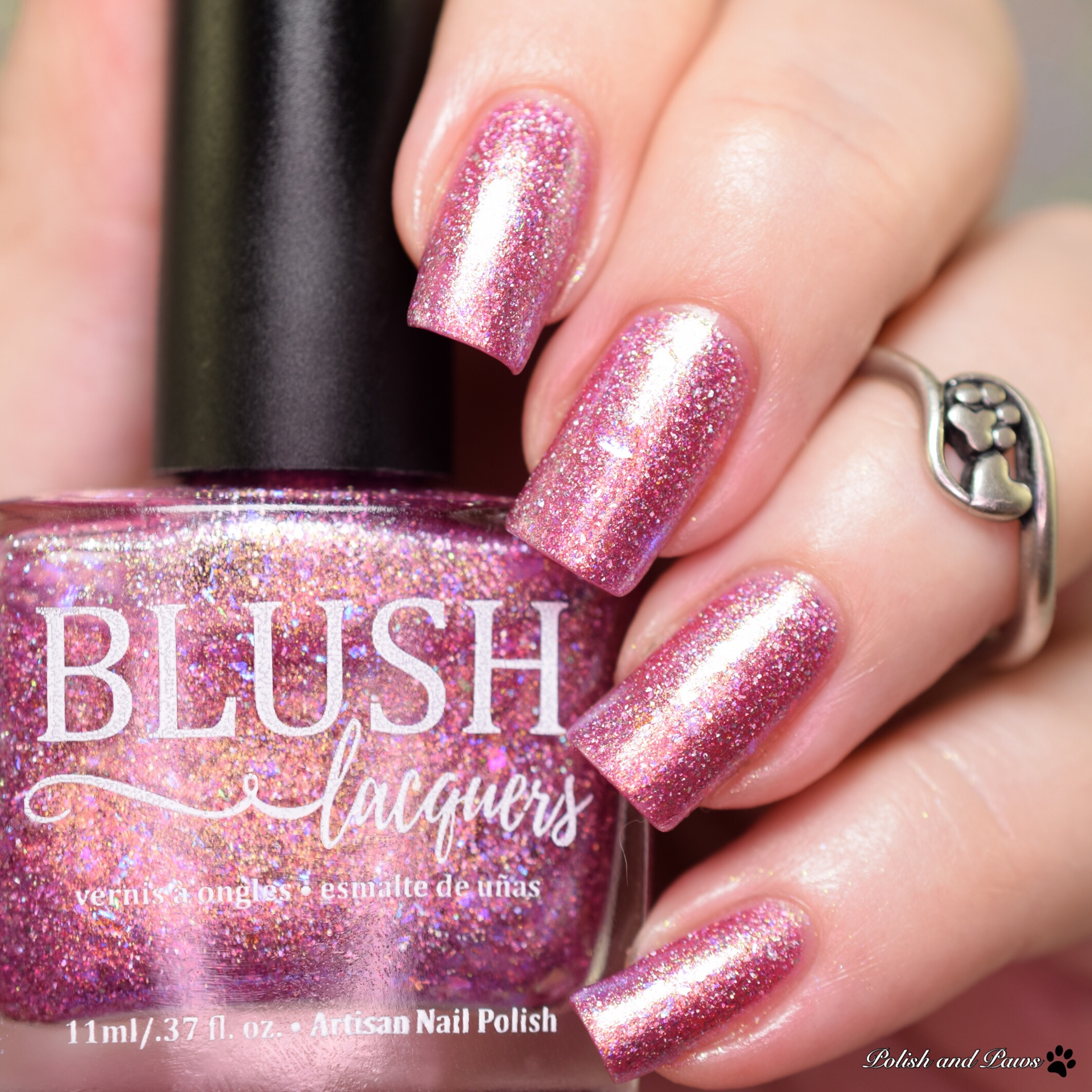 Blush Lacquers Raspberry Sorbet