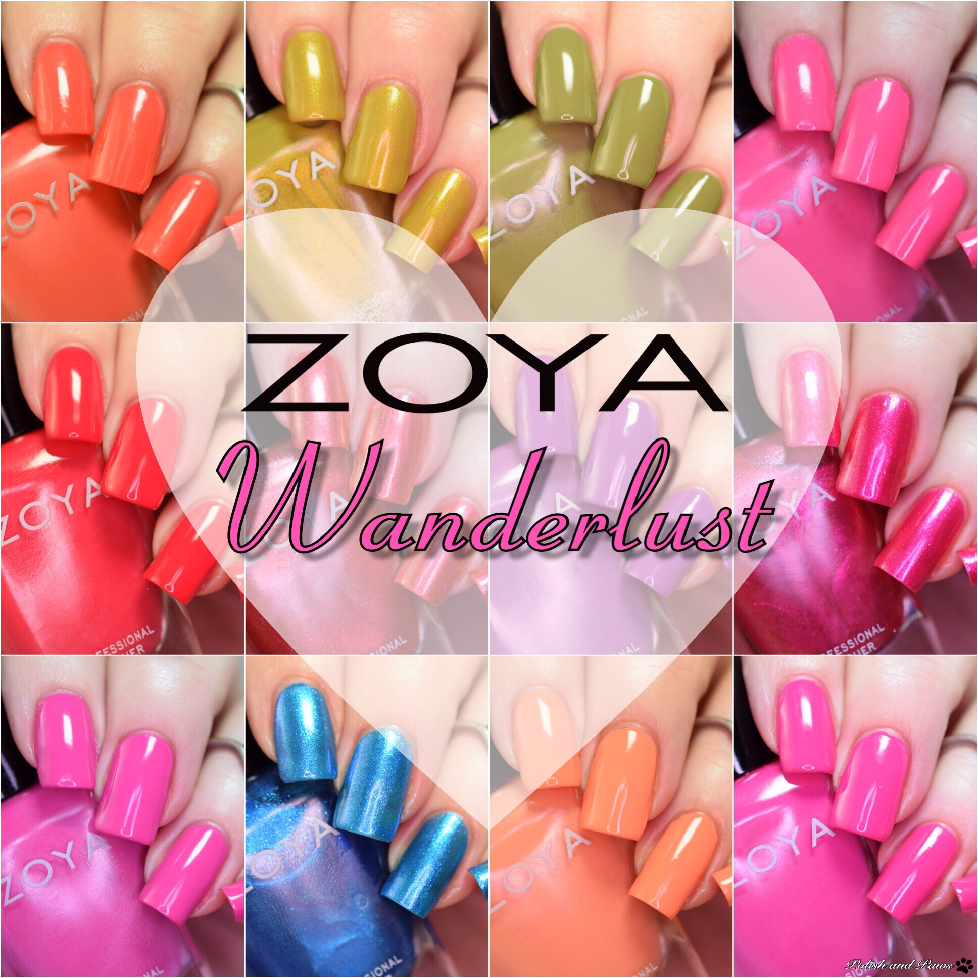 Zoya Wanderlust Summer 2017 Collection