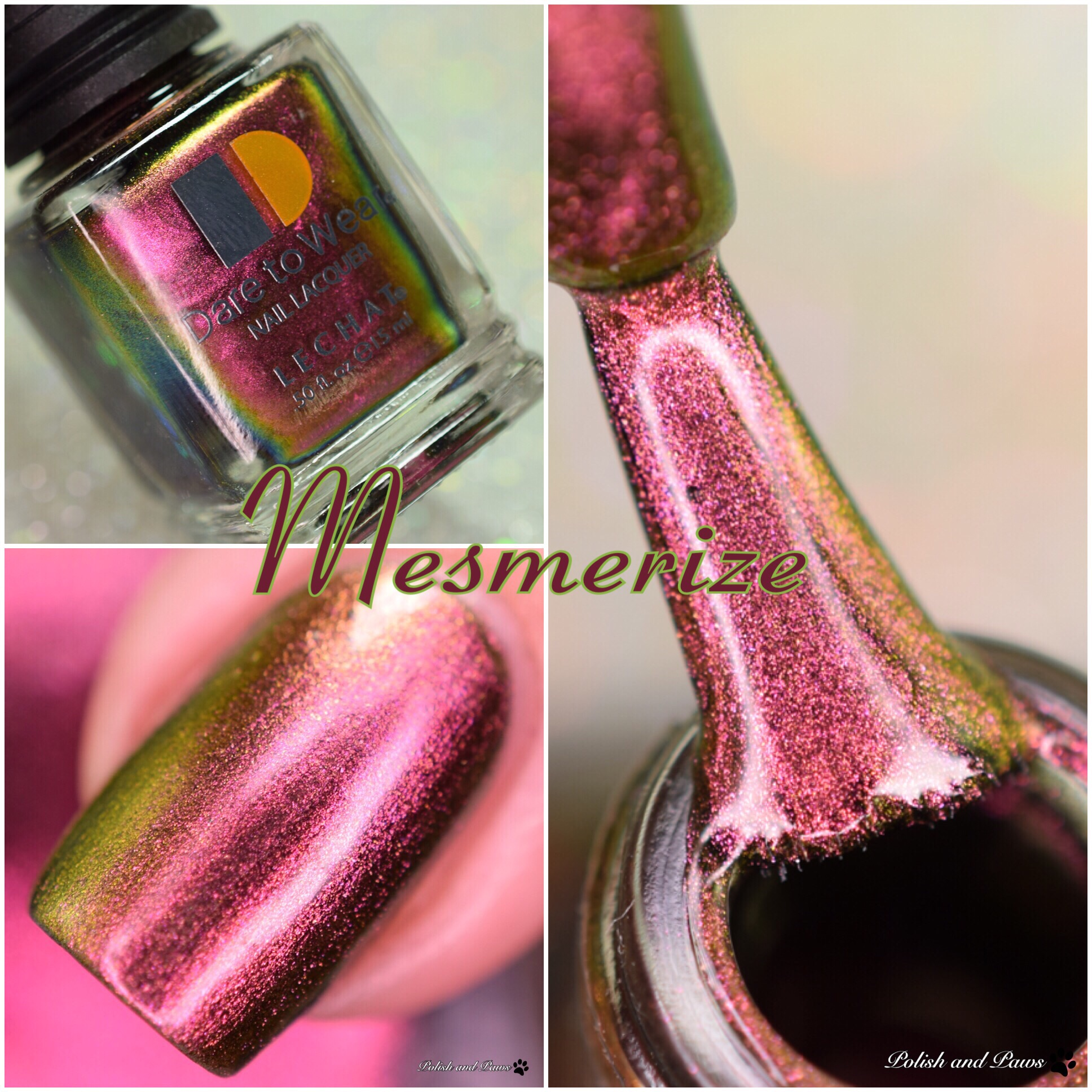 Le Chat Nail Lacquer Mesmerize