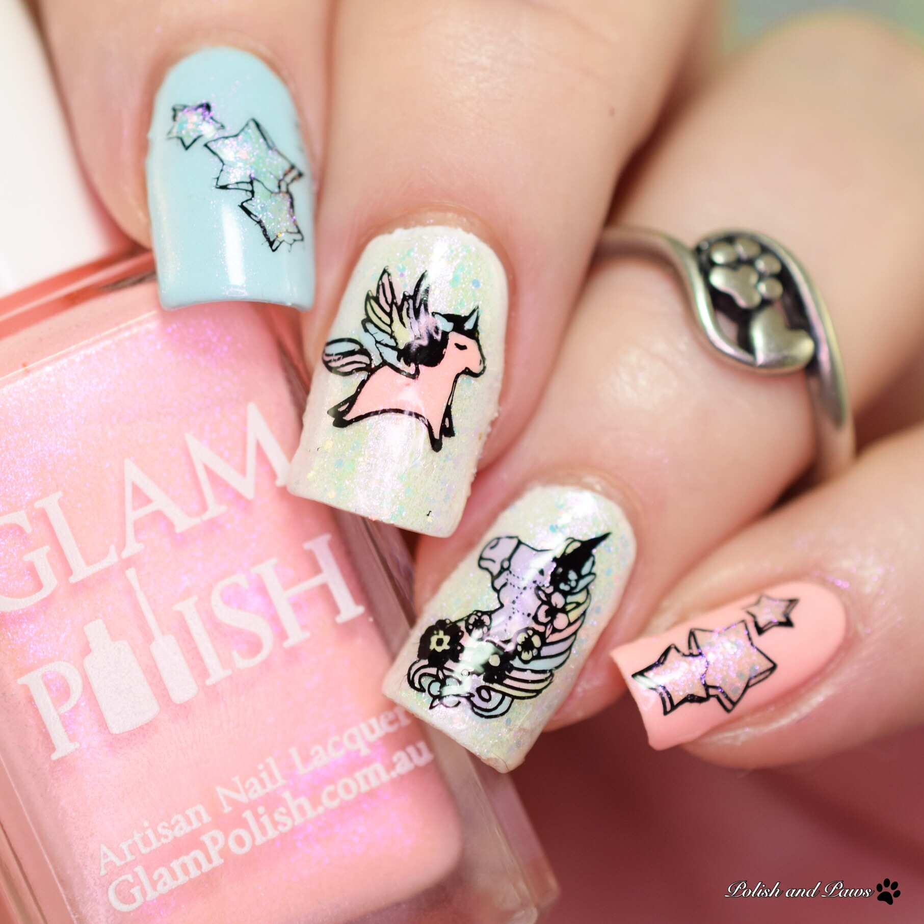 Pony Nail Art Glam Polish Made in Manehattan Collection