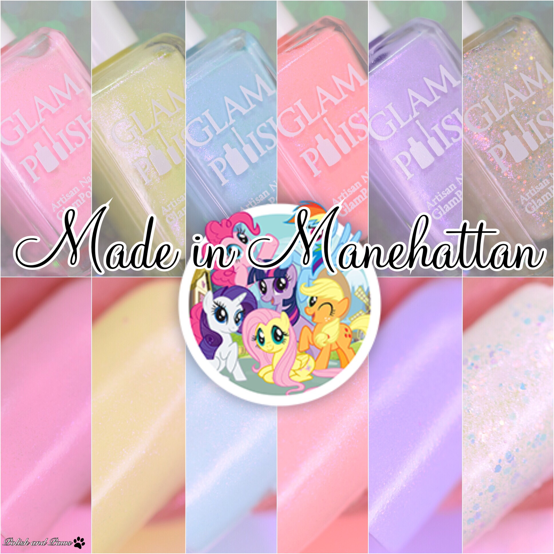 Glam Polish Made in Manehattan Collection