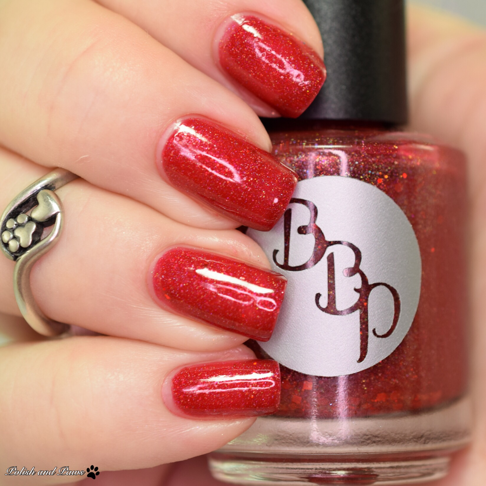 Bad Bitch Polish Ruby Slipper