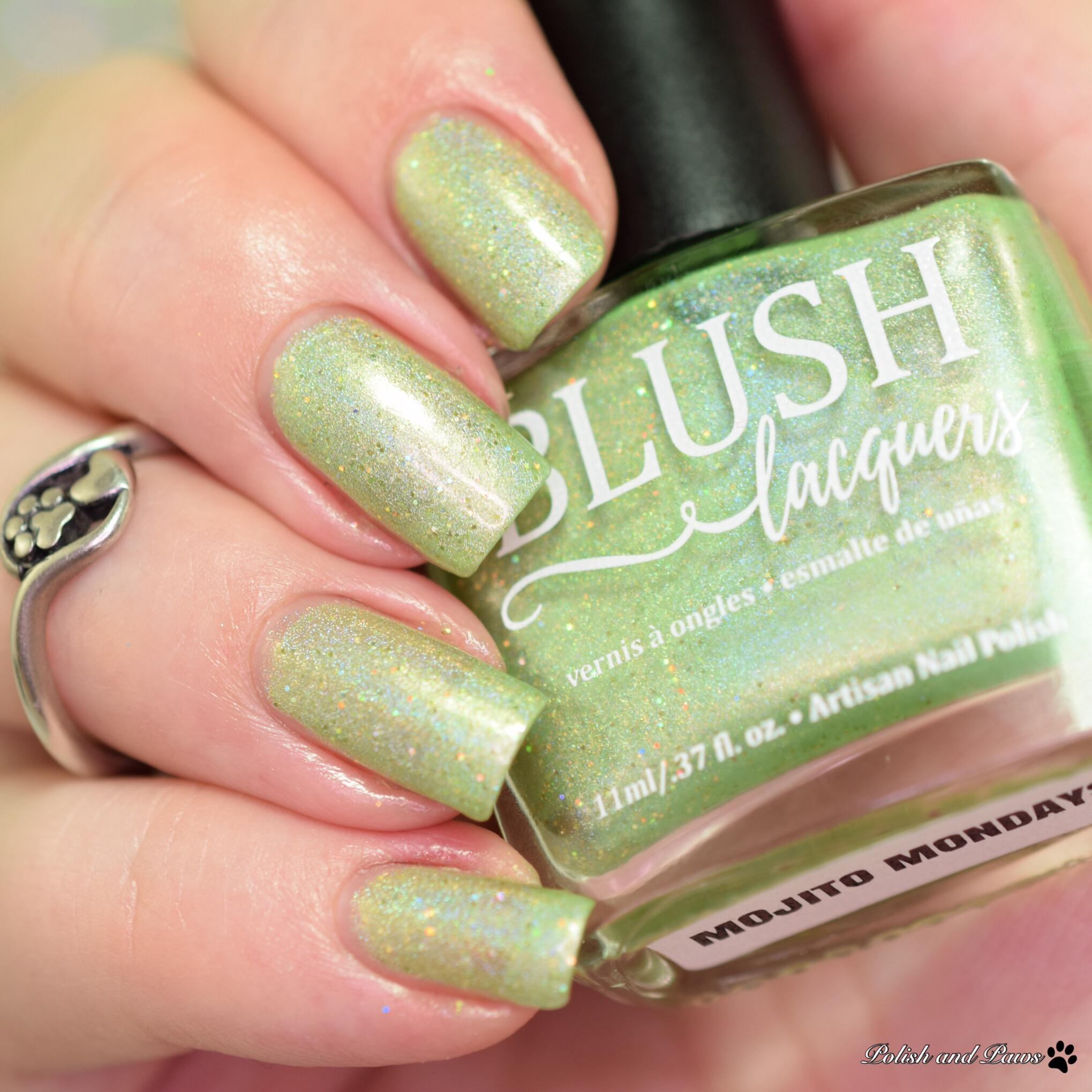 Blush Lacquers Mojito Mondays