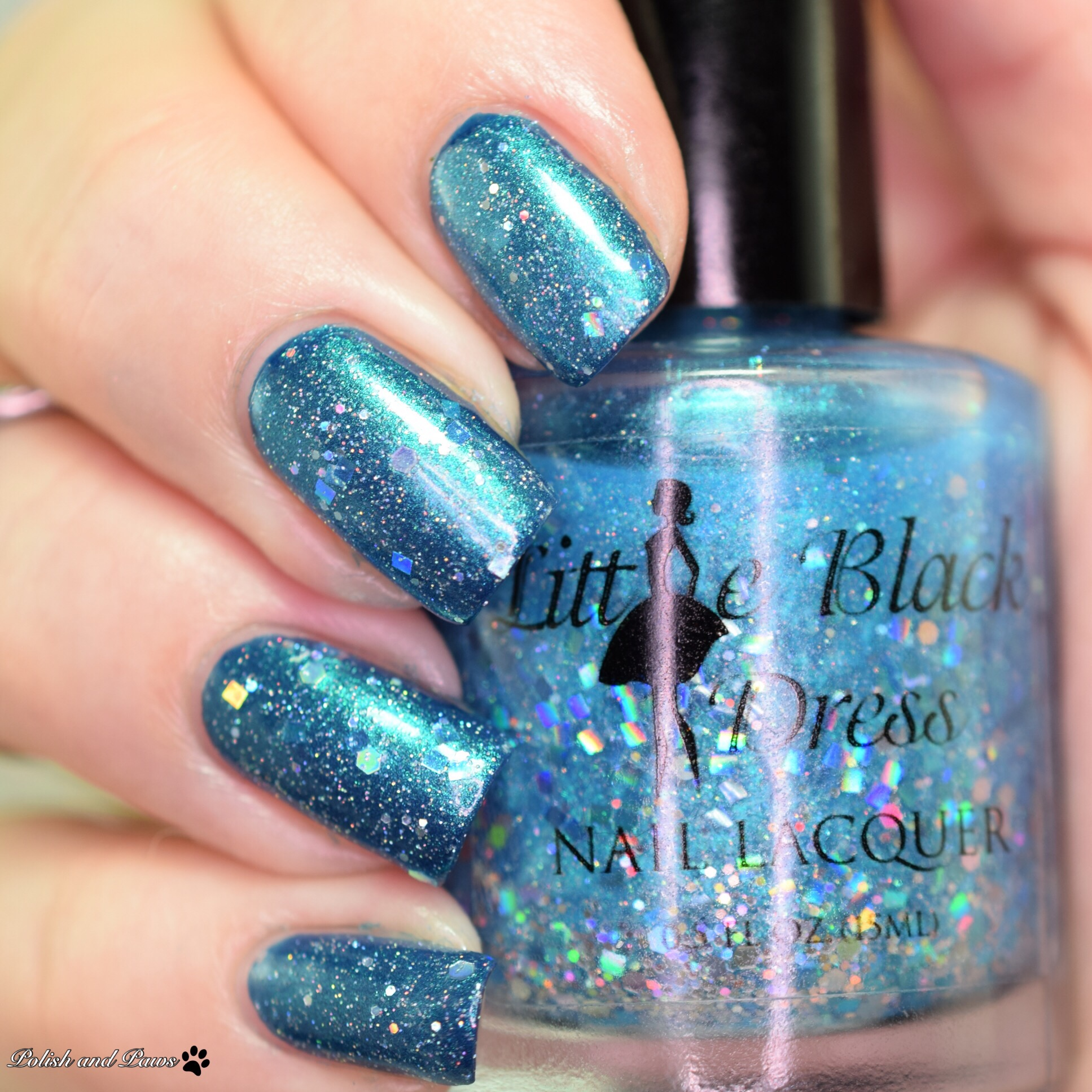Little Black Dress Nail Lacquer Prom Queen