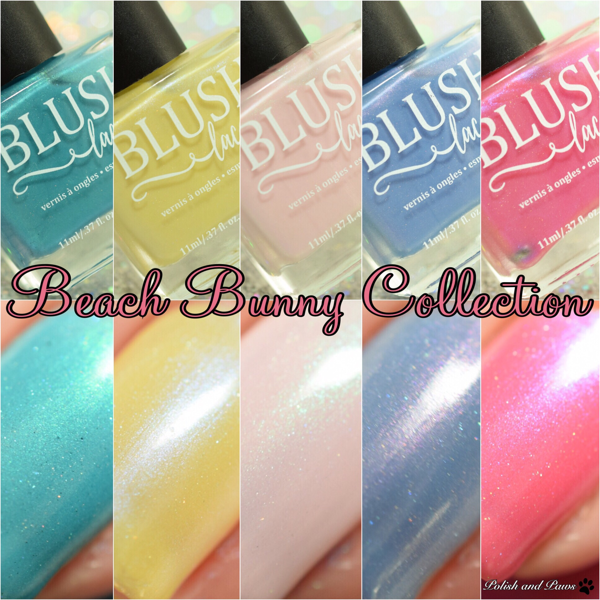 Blush Lacquers Beach Bunny Collection