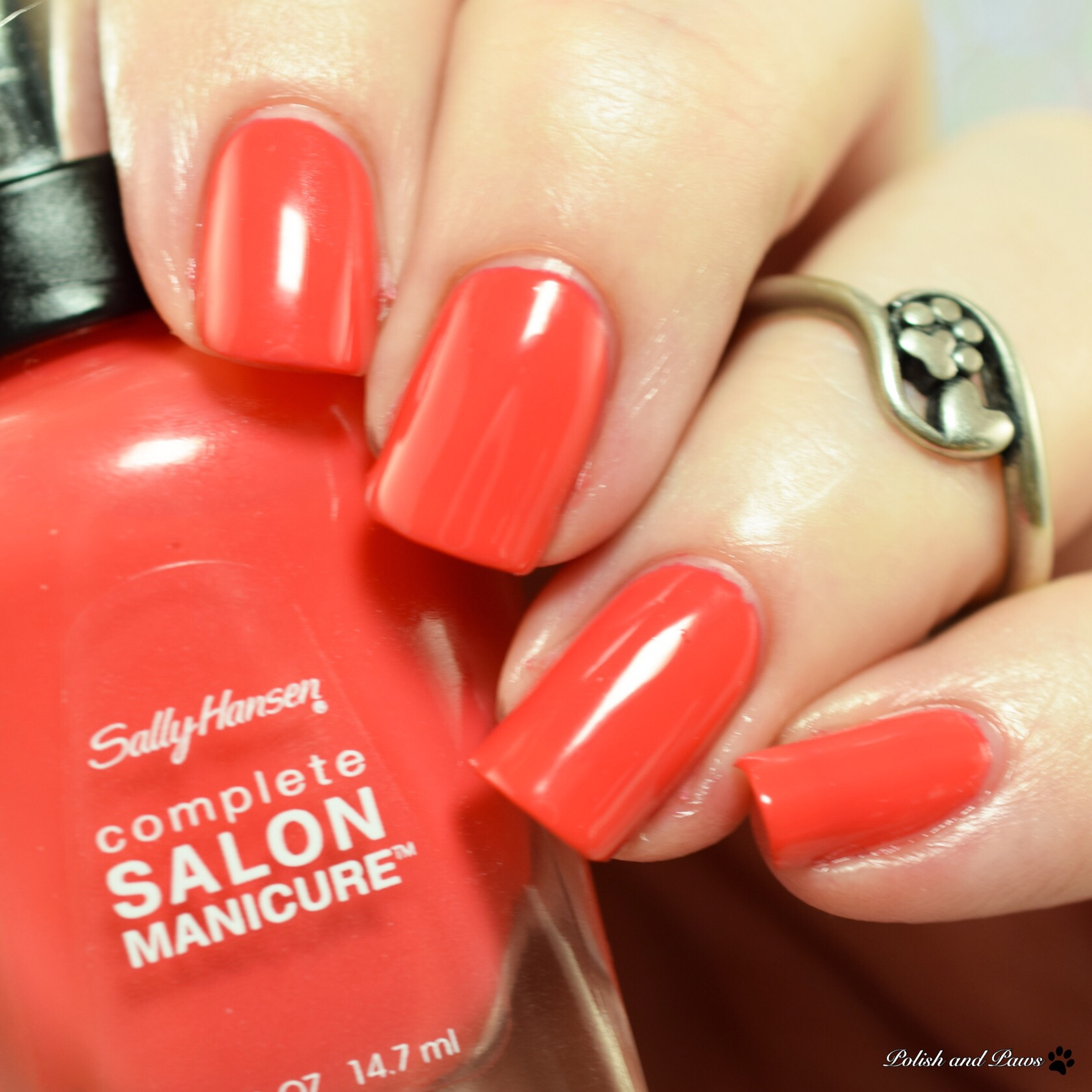 Sally Hansen Color Of The Moment July 2017 Get Juiced And Kook A Mango Polish And Paws