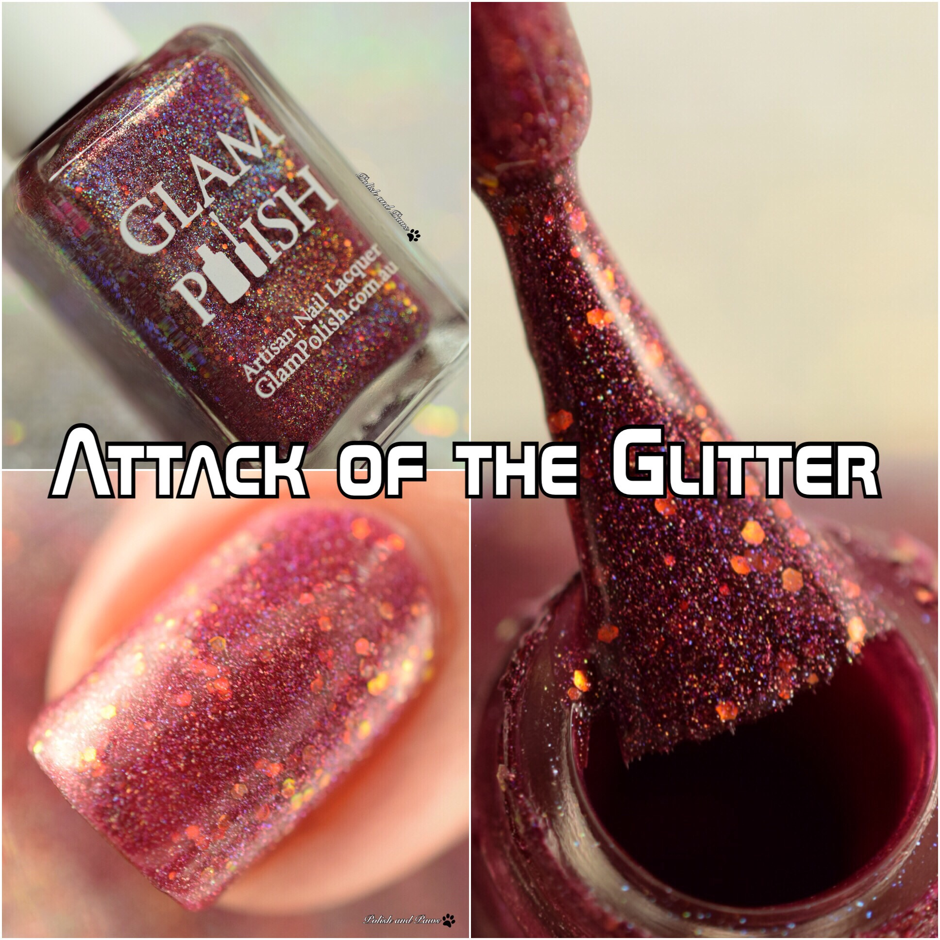 Glam Polish Attack of the Glitter