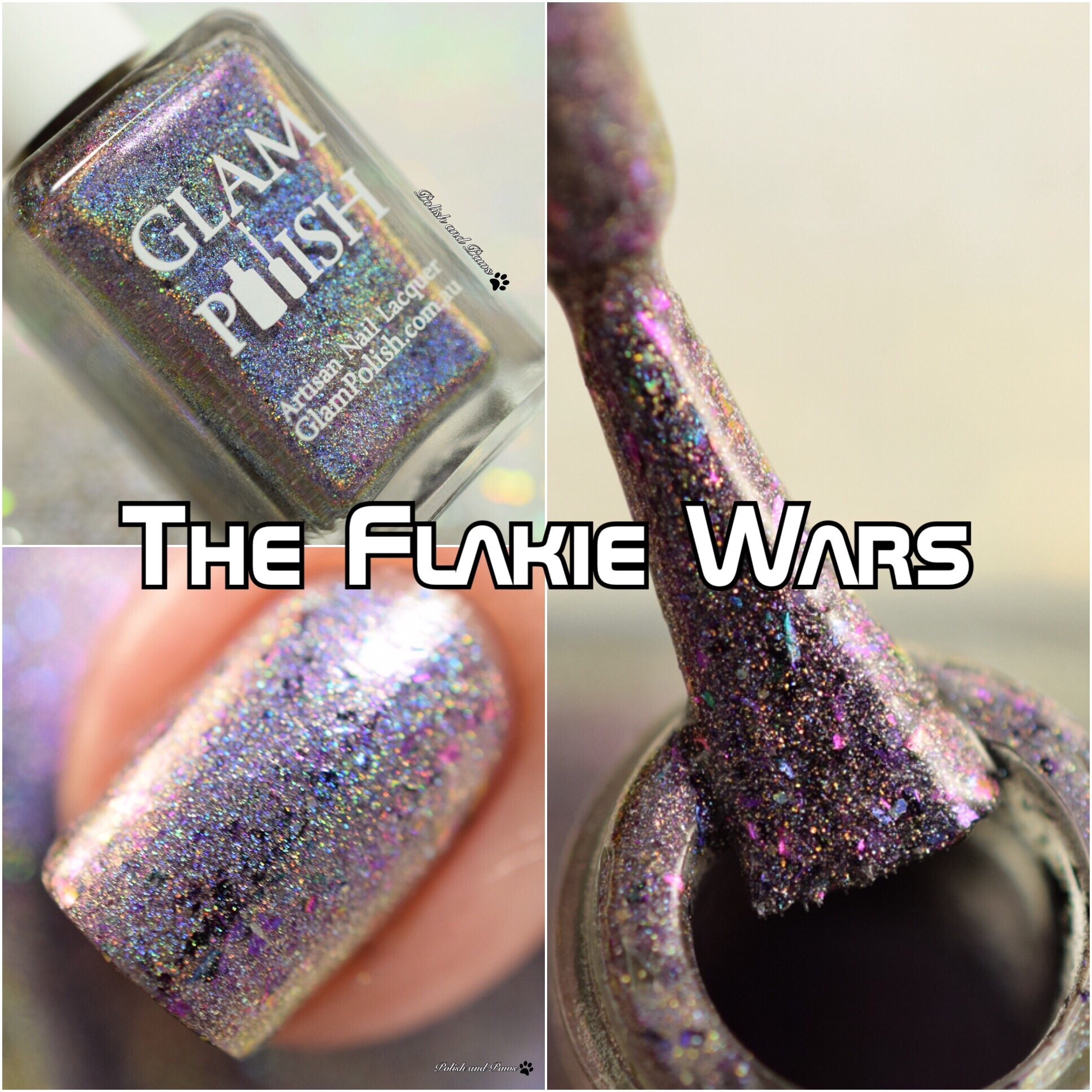 Glam Polish The Flakie Wars