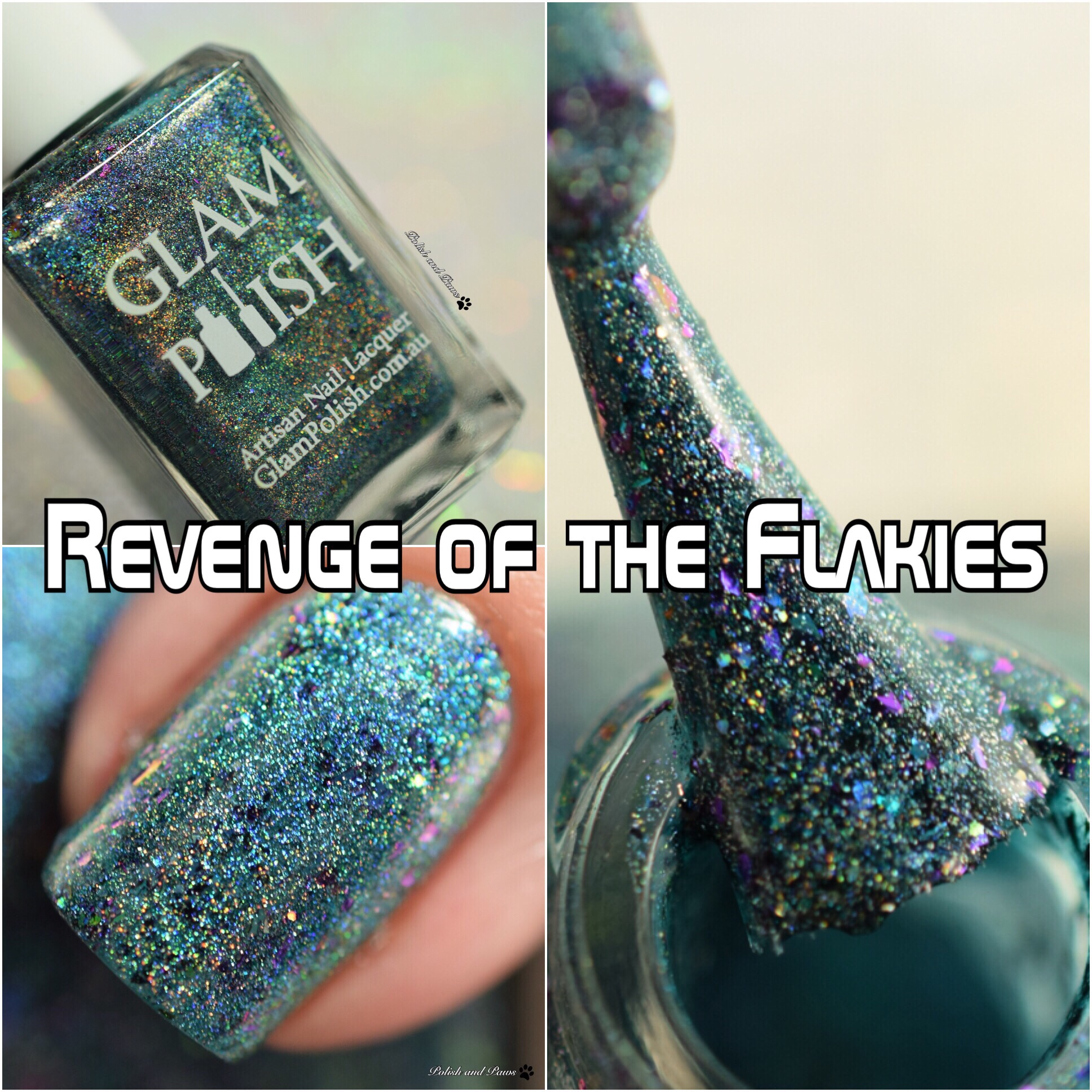 Glam Polish Revenge of the Flakies