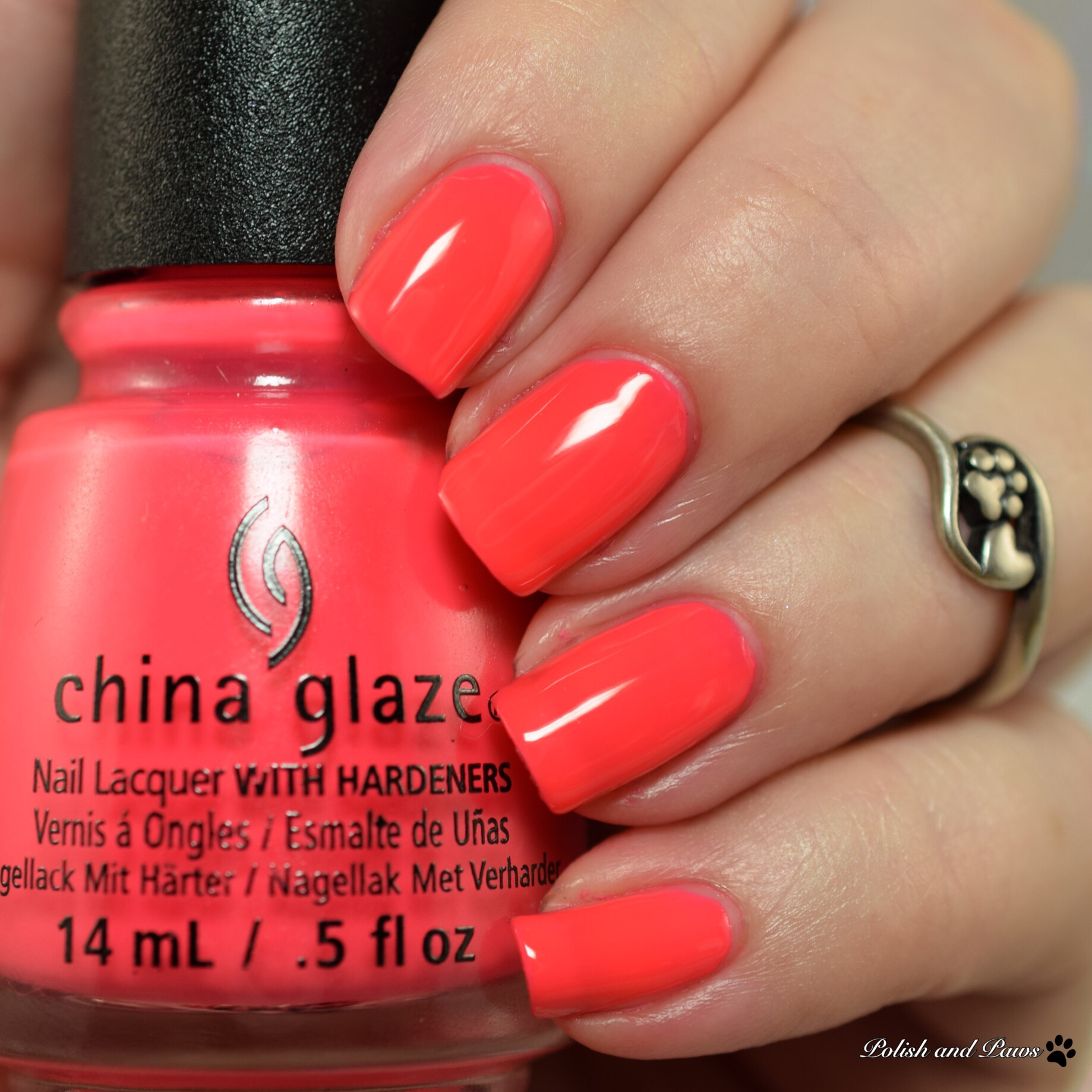 China Glaze Sun-Set the Mood