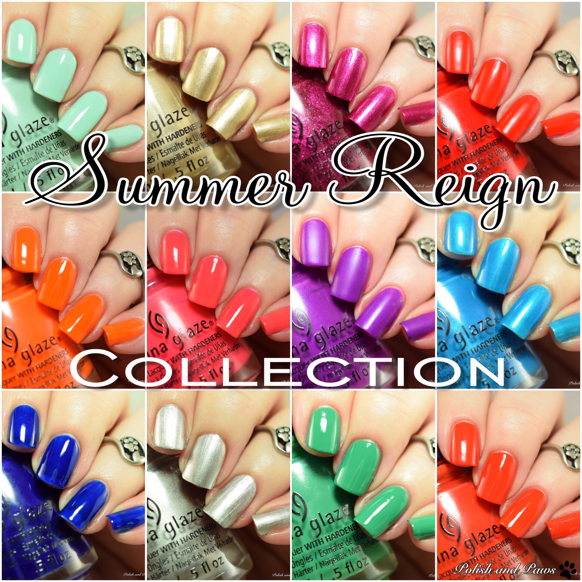 China Glaze Summer Reign Collection ~ Summer 2017