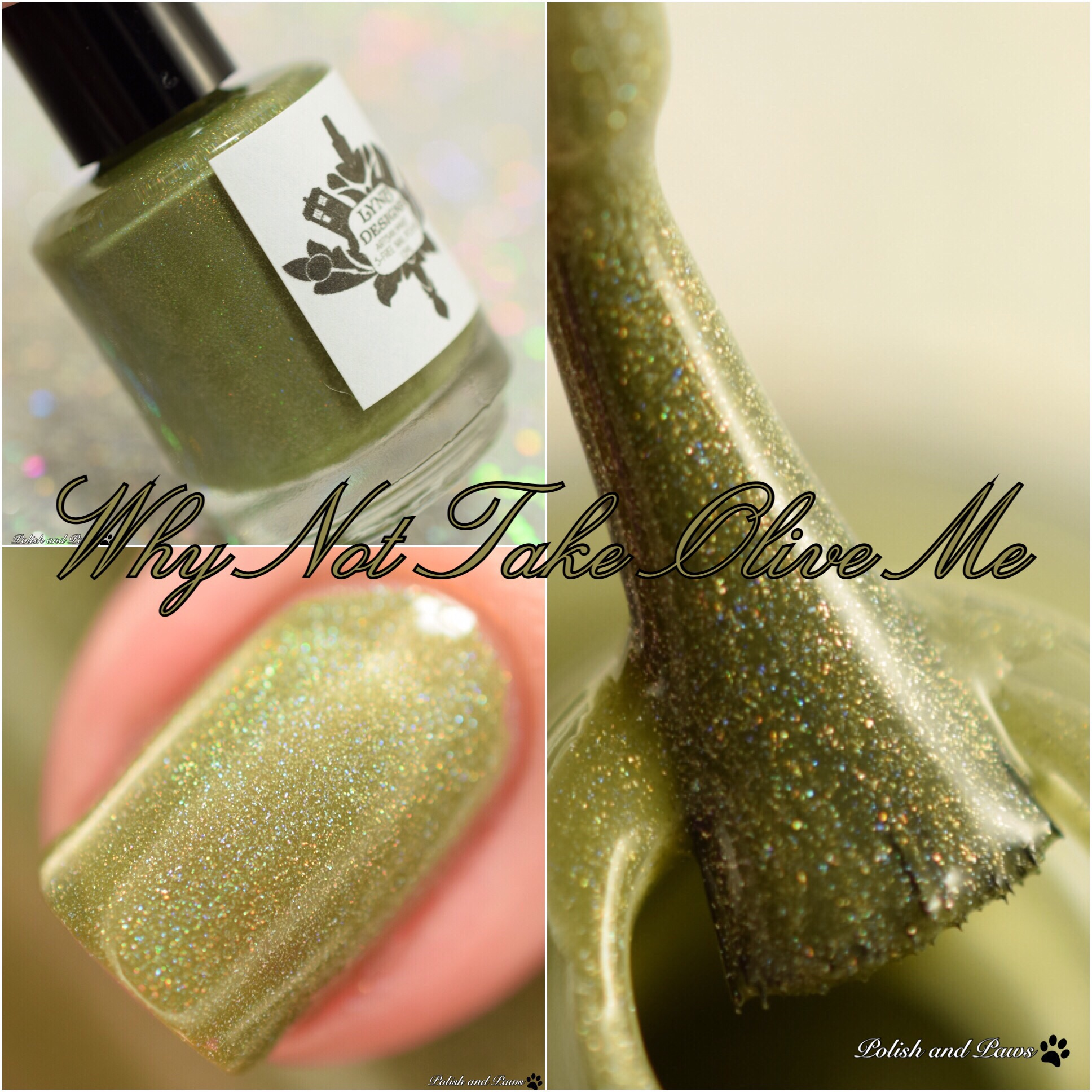 LynB Designs Why Not Take Olive Me