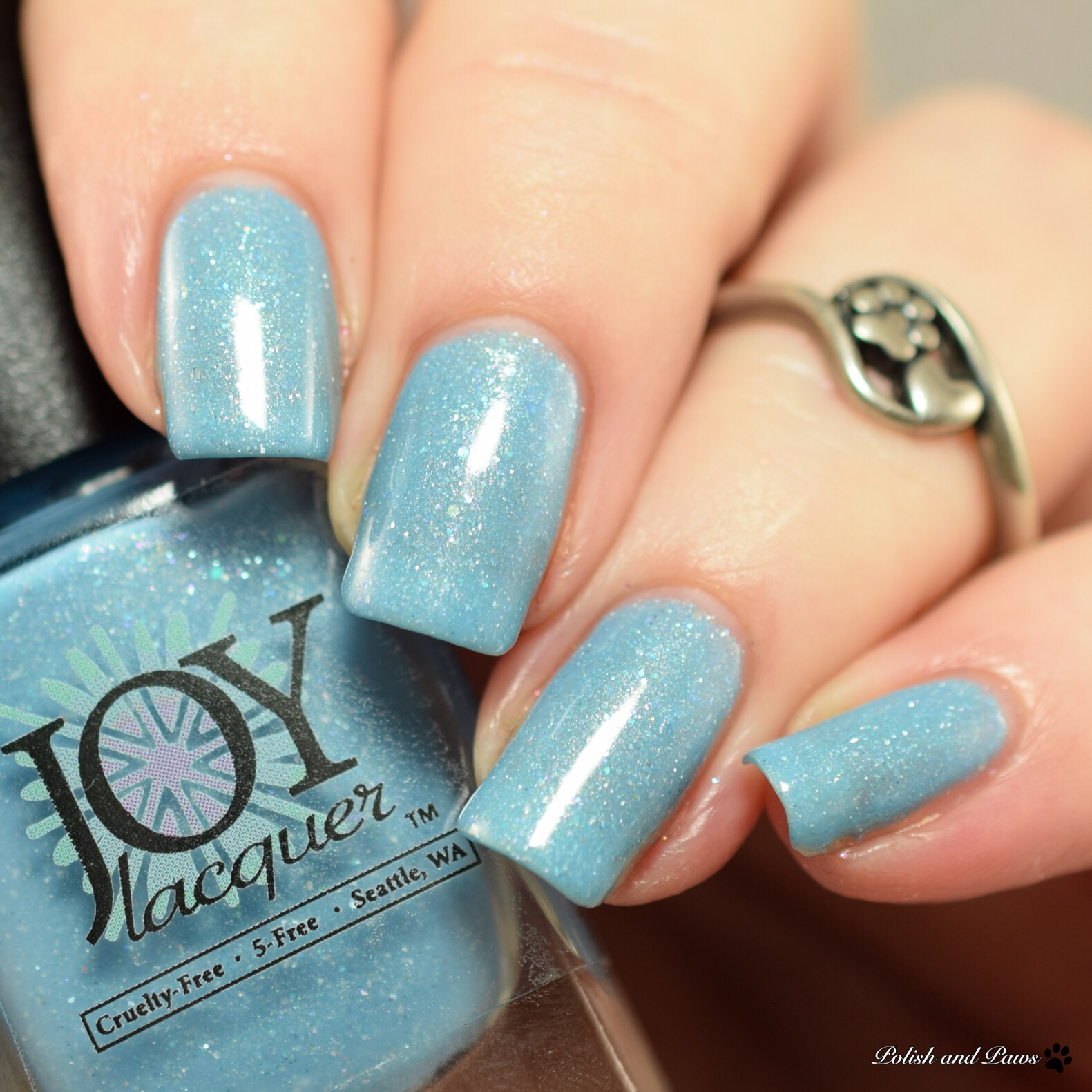 Joy Lacquer March Aquamarine