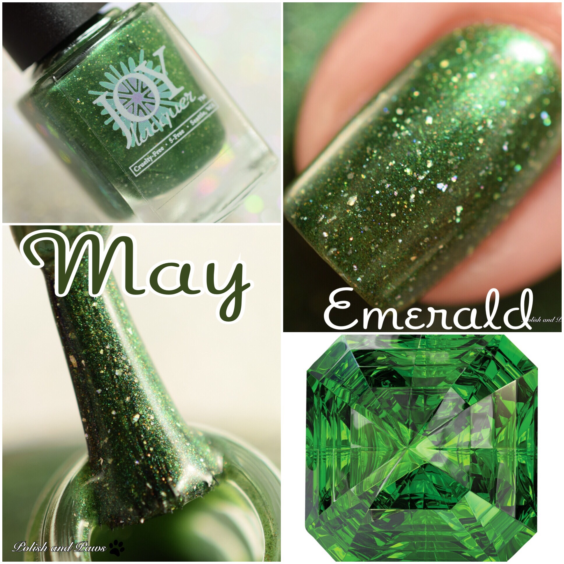 Joy Lacquer May Emerald