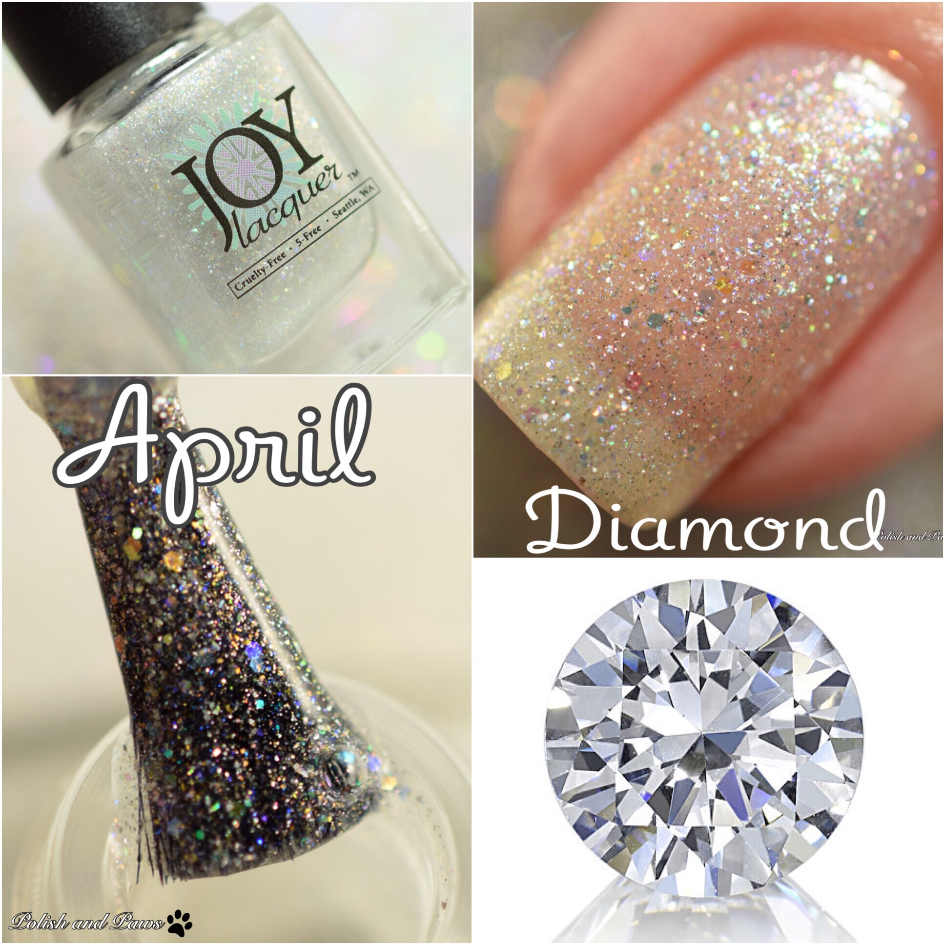 Joy Lacquer April Diamond