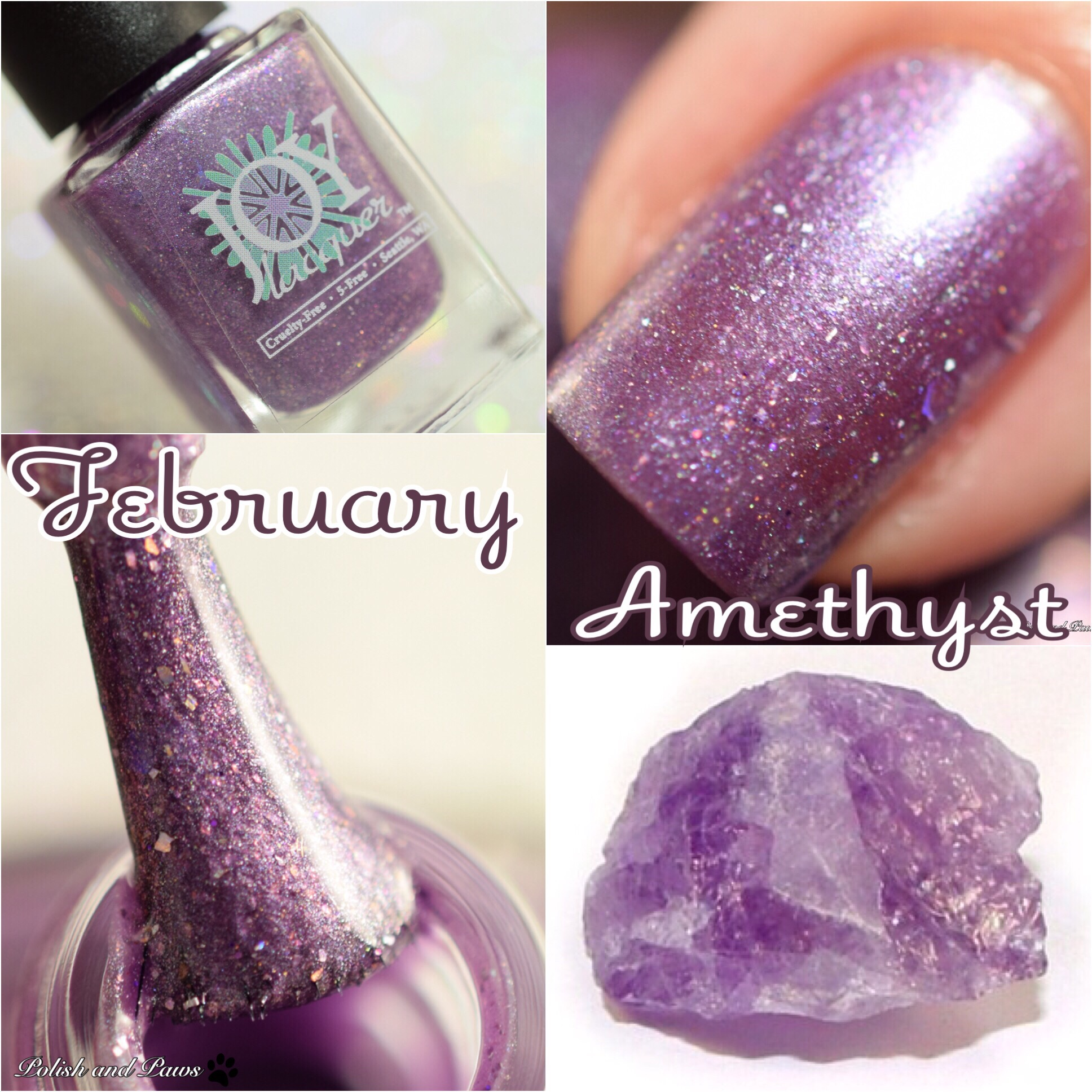 Joy Lacquer February Amethyst
