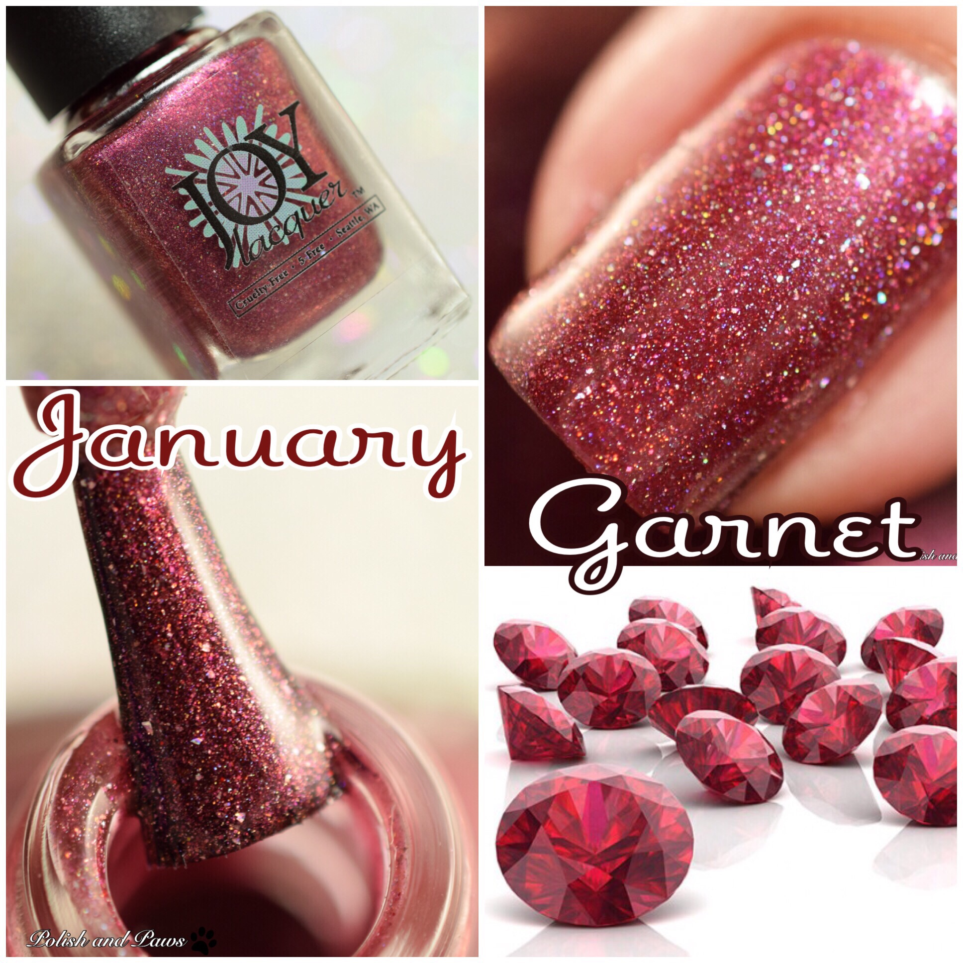 Joy Lacquer January Garnet