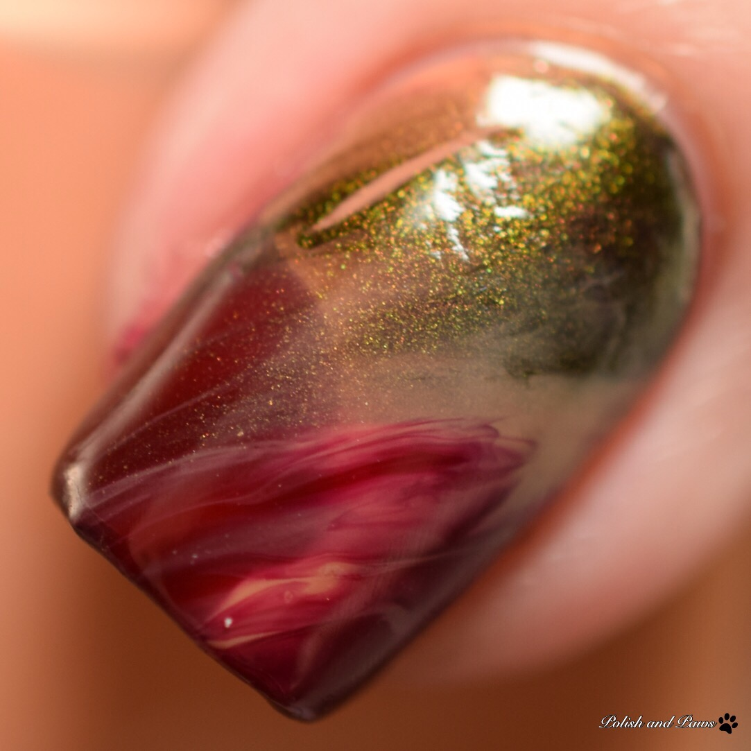 Dry Marble Decal Nail Art