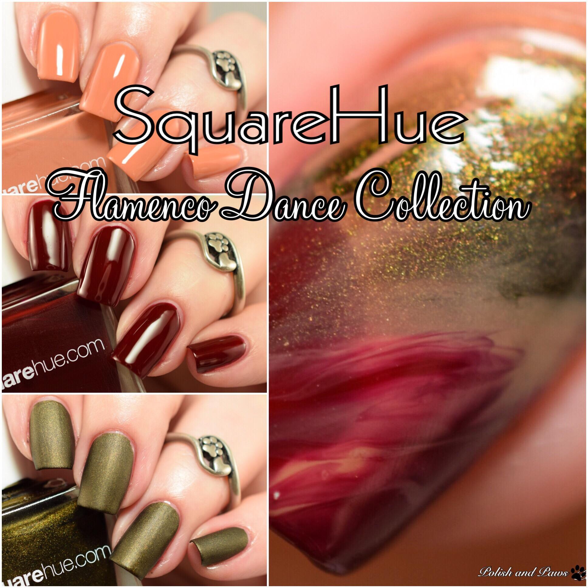 SquareHue Flamenco Dance Collection August 2017 Box