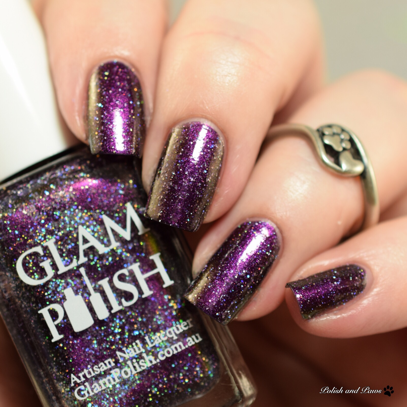 Glam Polish I'm the Ghost with the Most Babe