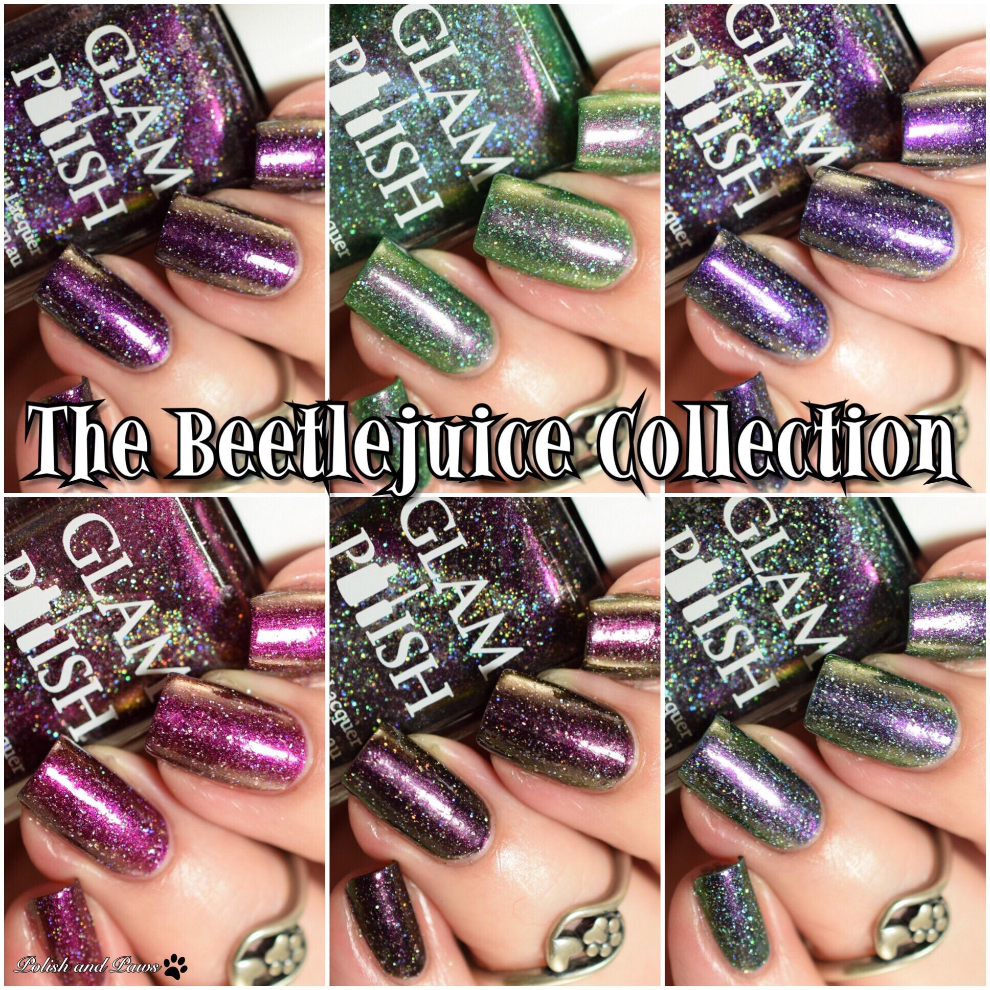 Glam Polish Beetlejuice Collection