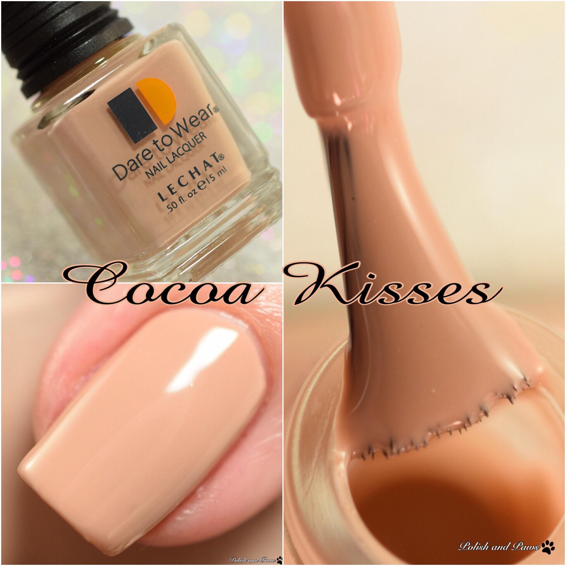 Le Chat Dare to Wear Cocoa Kisses