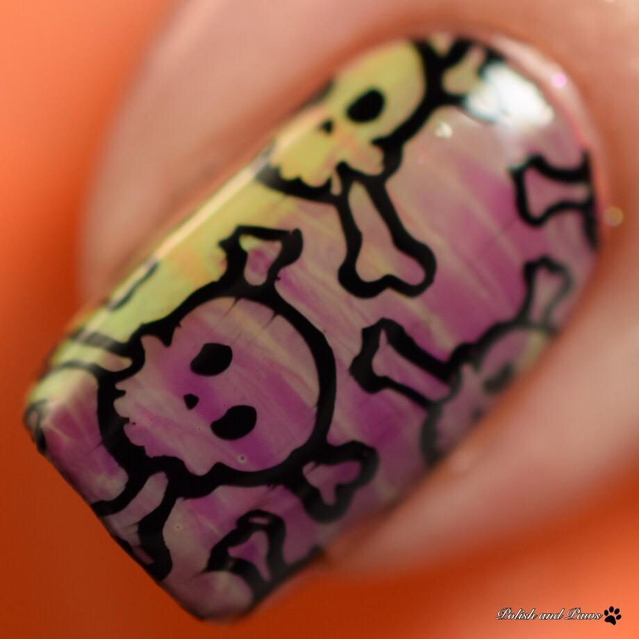 Bad Bitch Polish Spooktacular Cremes Nail Art
