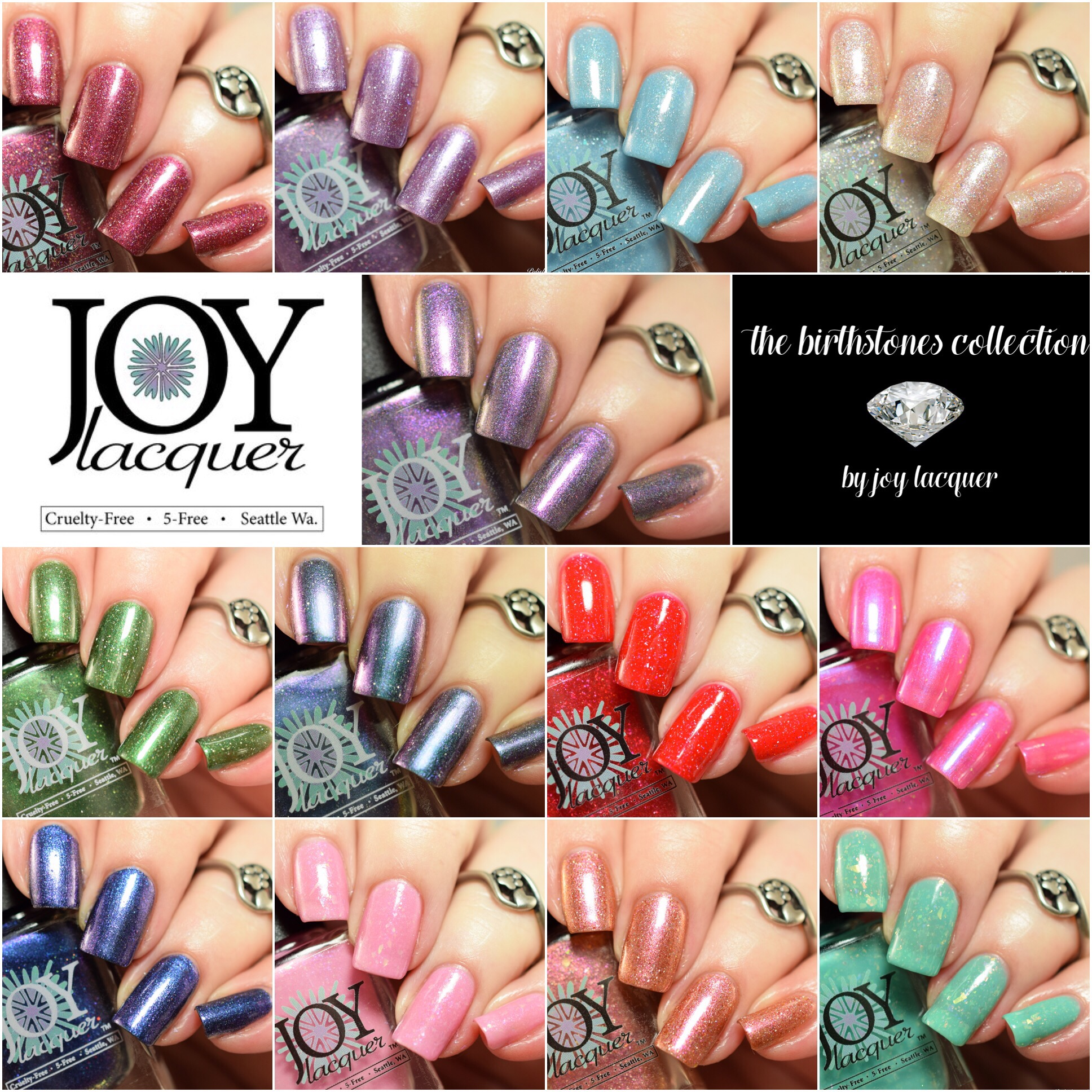 Joy Lacquer The Birthstones Collection