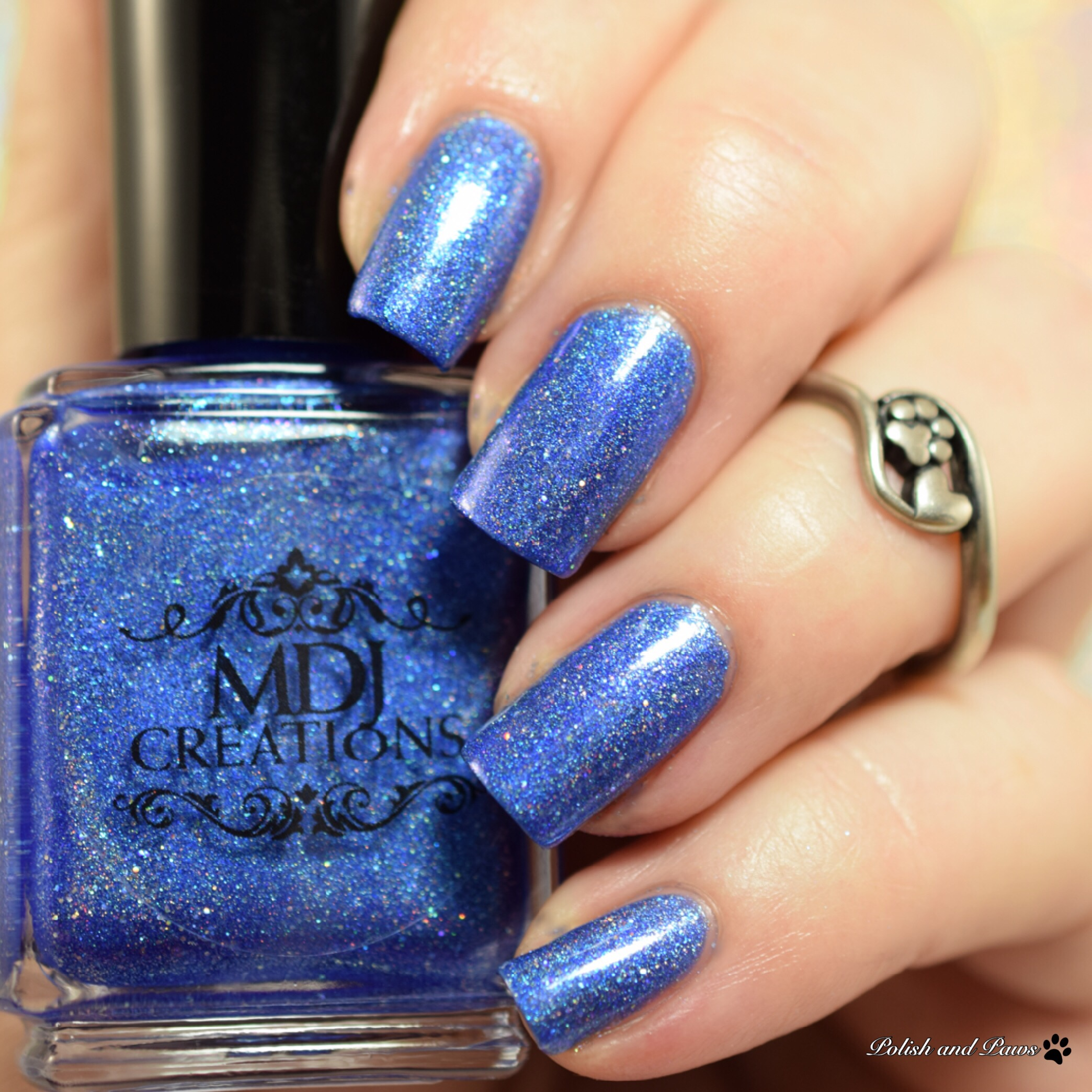 MDJ Creations Roy G. Biv Blue