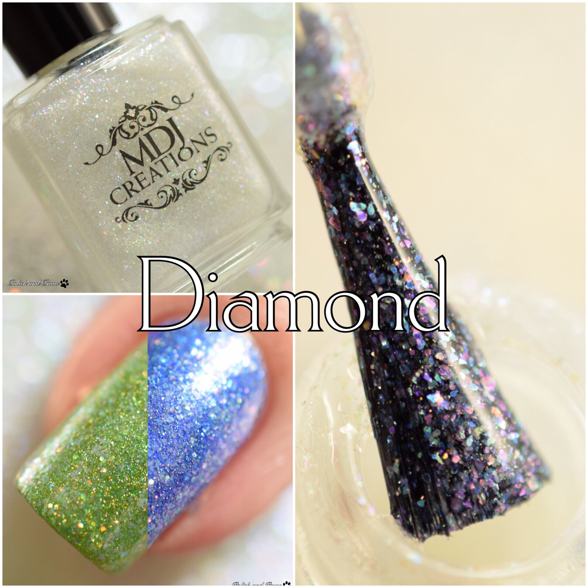 MDJ Creations Roy G. Biv Diamond