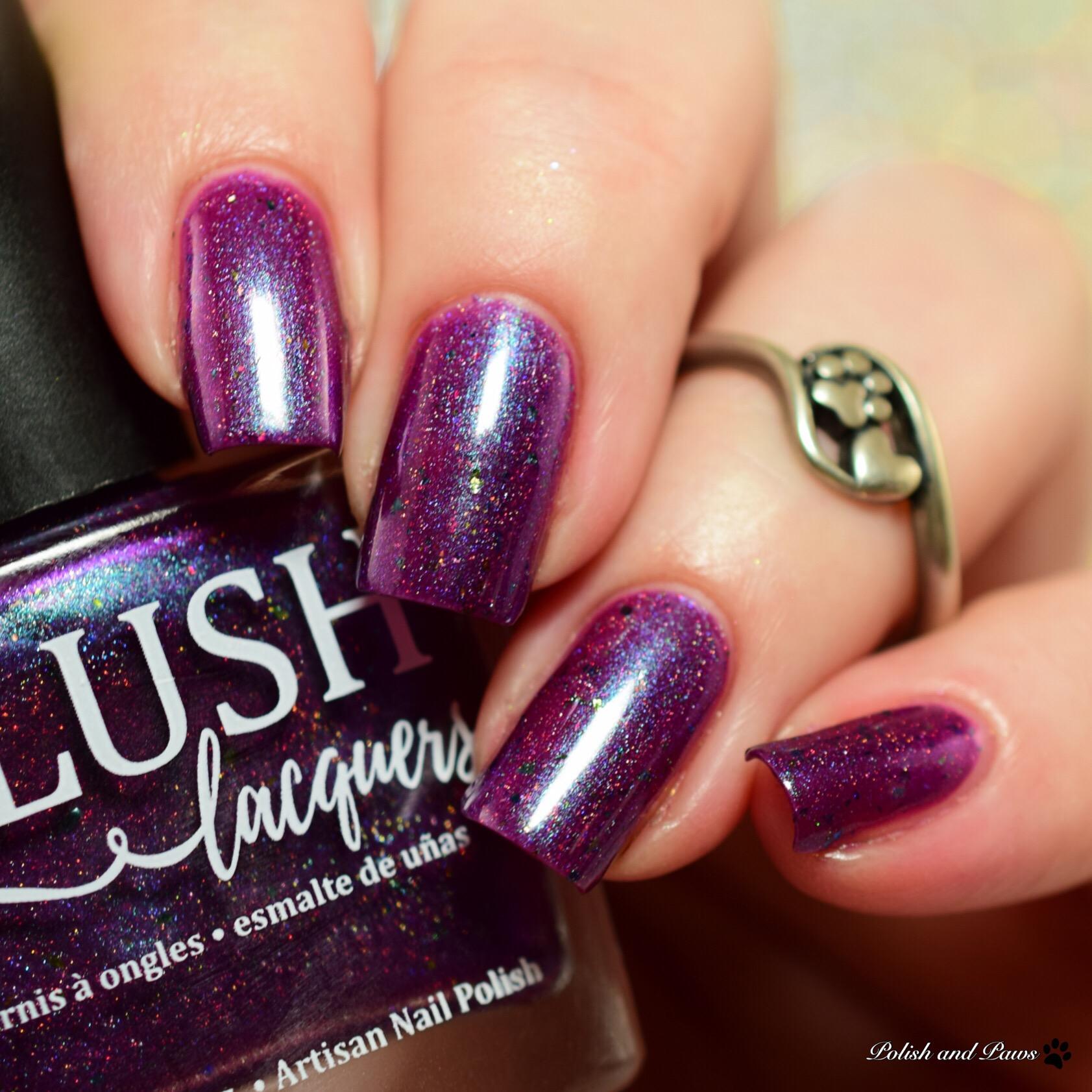 Blush Lacquers Floral Engagement