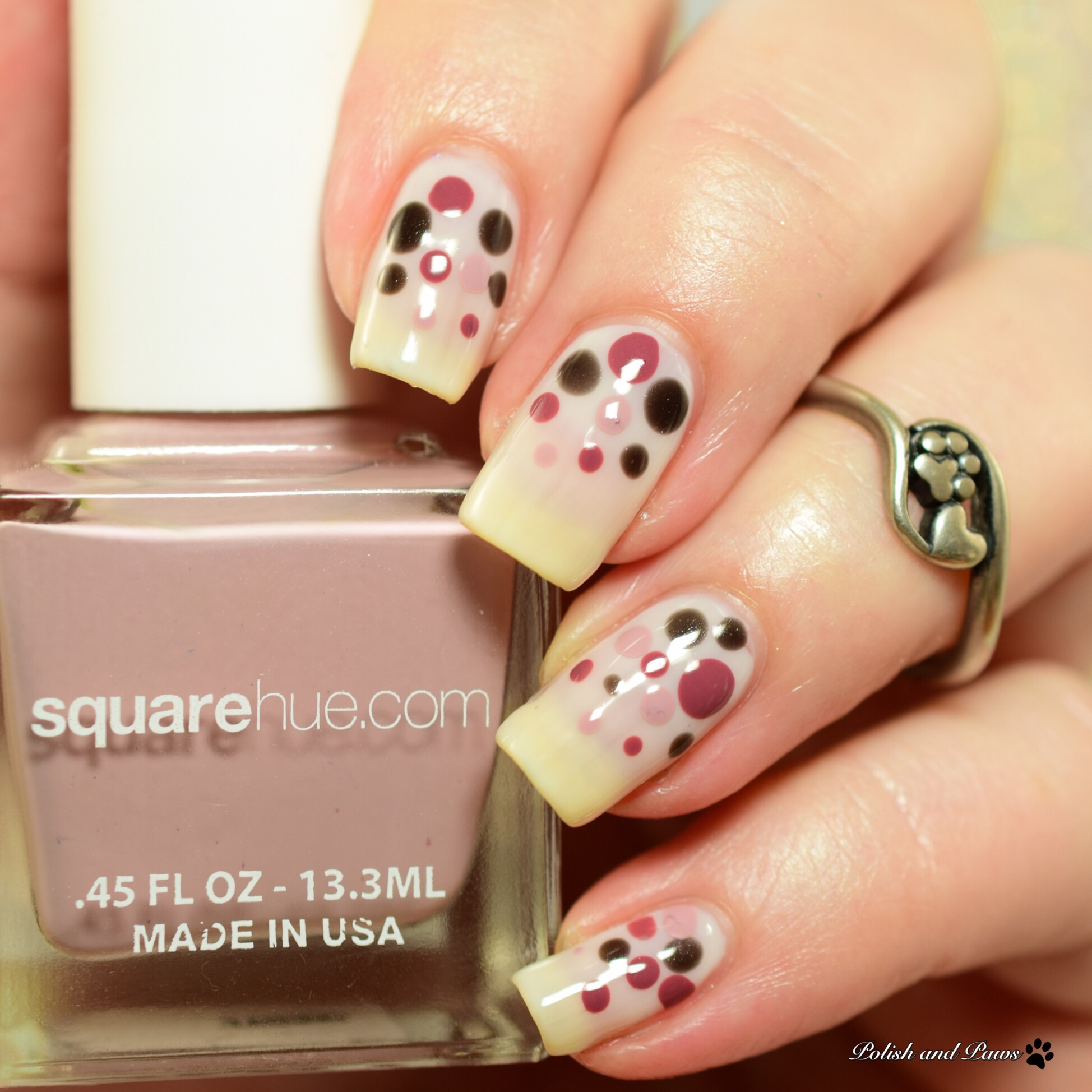 Square Hue Dance Collection Salsa Nail Art