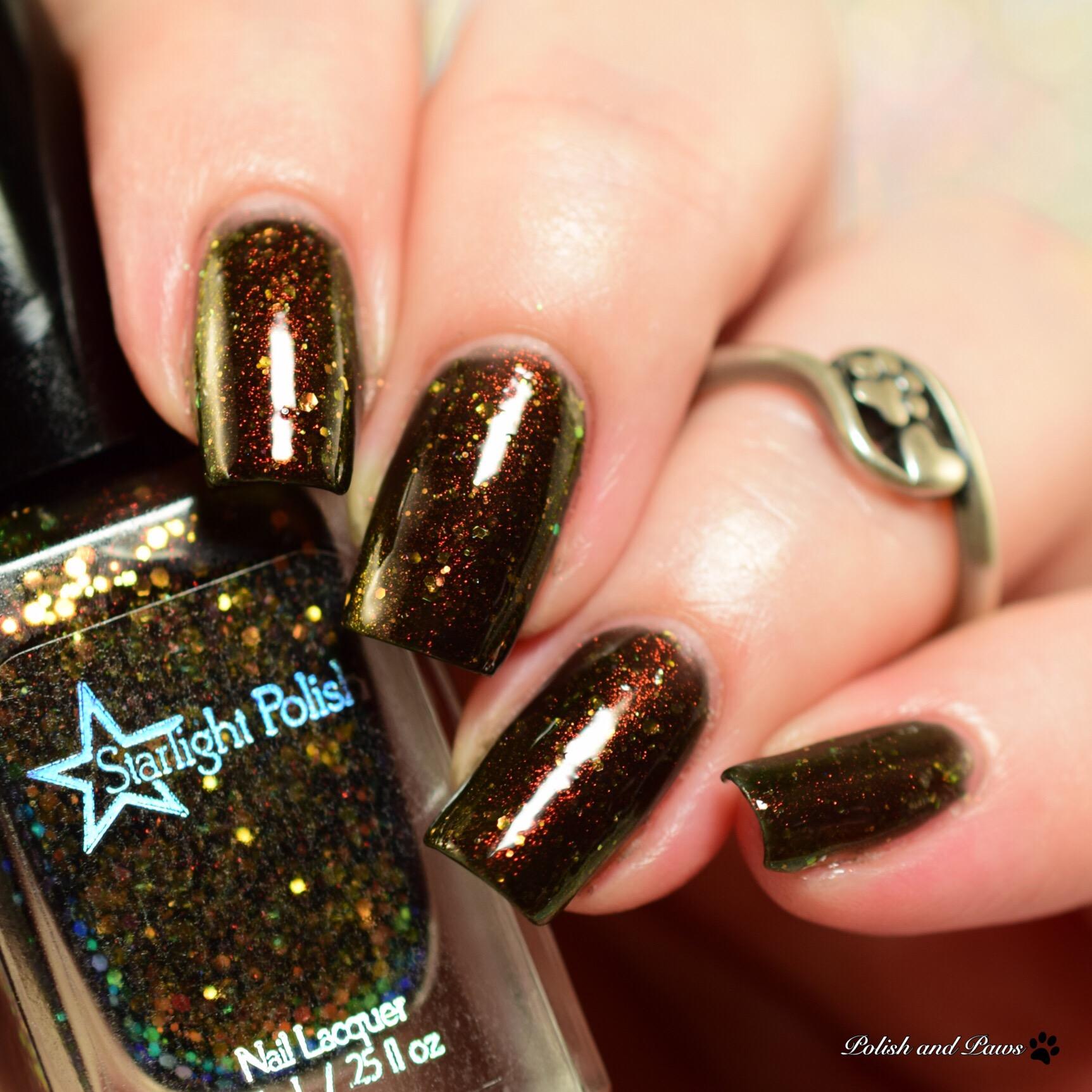 Starlight Polish Phoenix Aurora Night