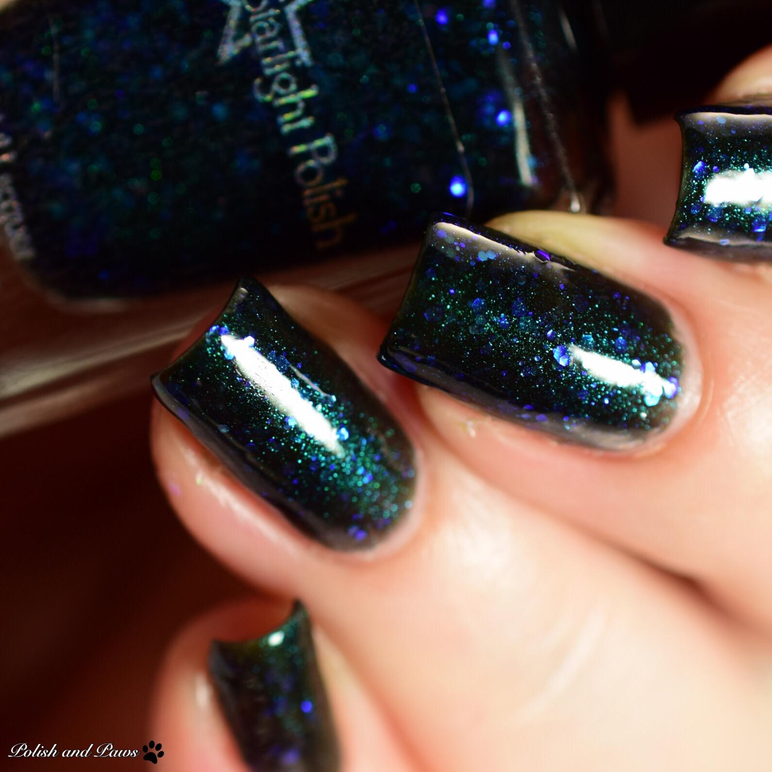 Starlight Polish Kelpie Aurora Night