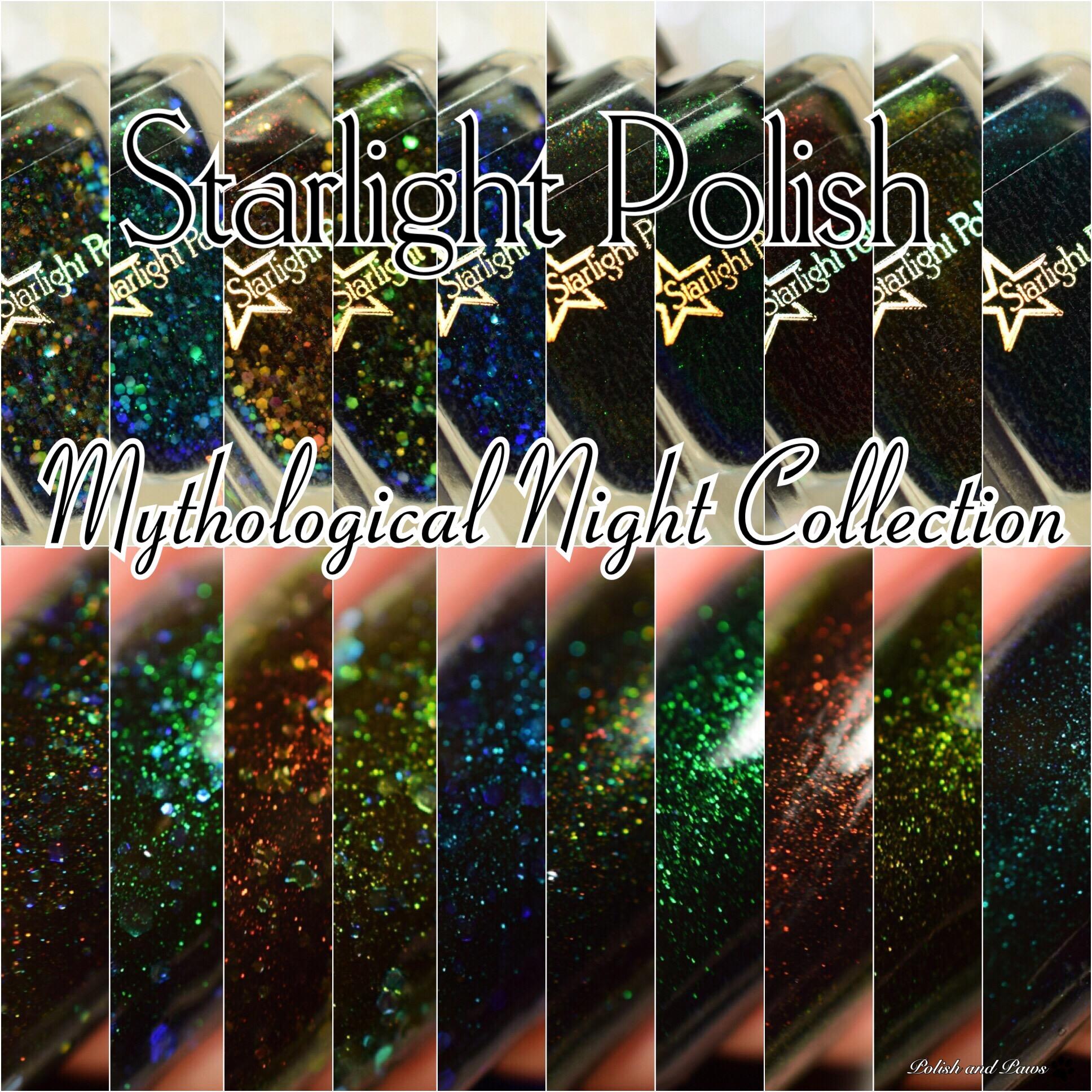 Starlight Polish Mythological Night Collection