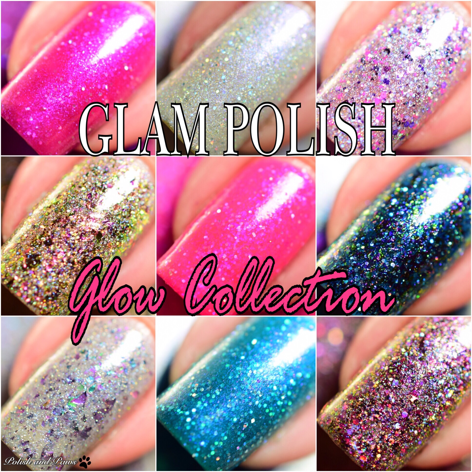 Glam Polish Glow Collection
