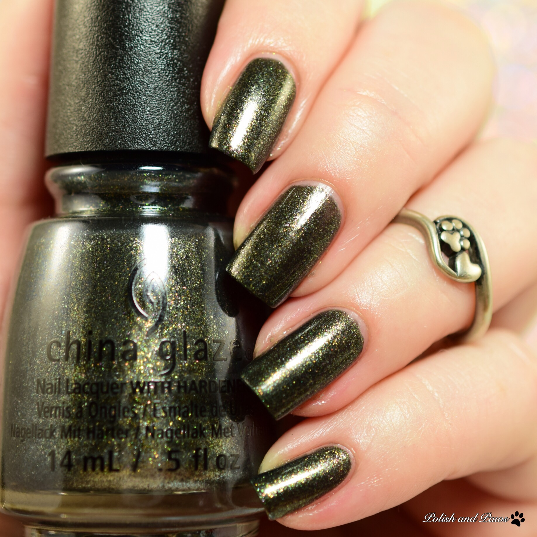 China Glaze Life's Grim