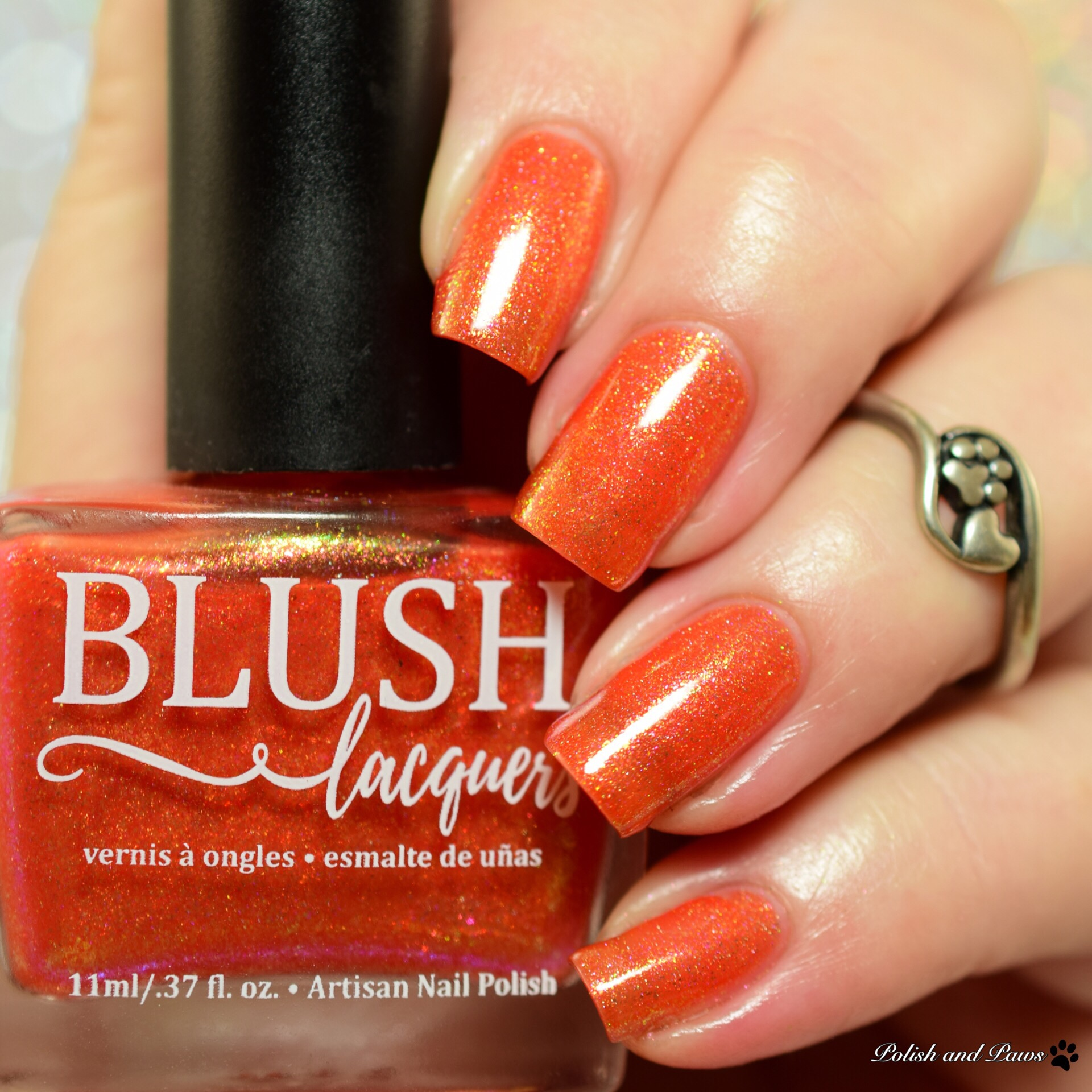 Blush Lacquers Fall Flame