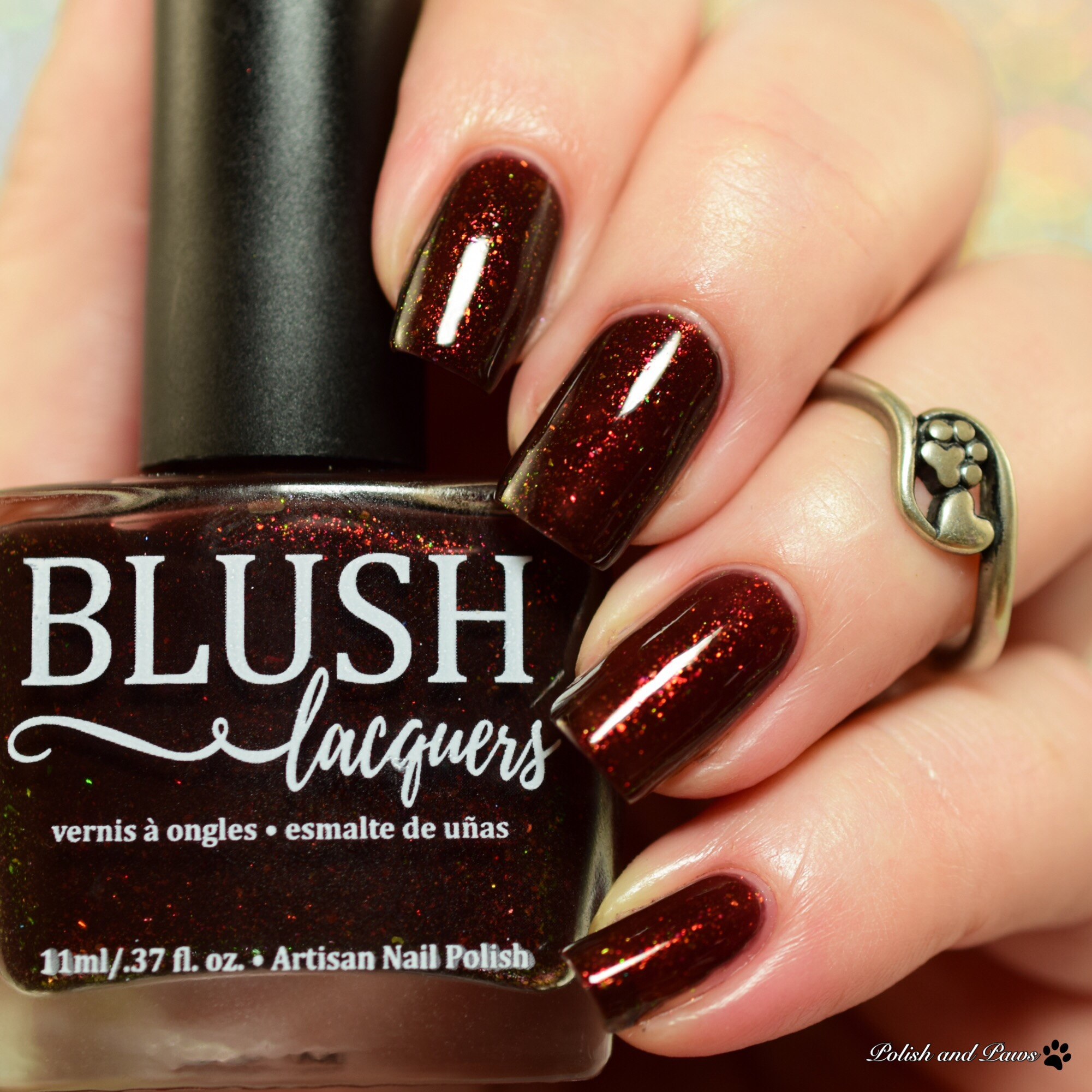 Blush Lacquers Spiced Cocoa