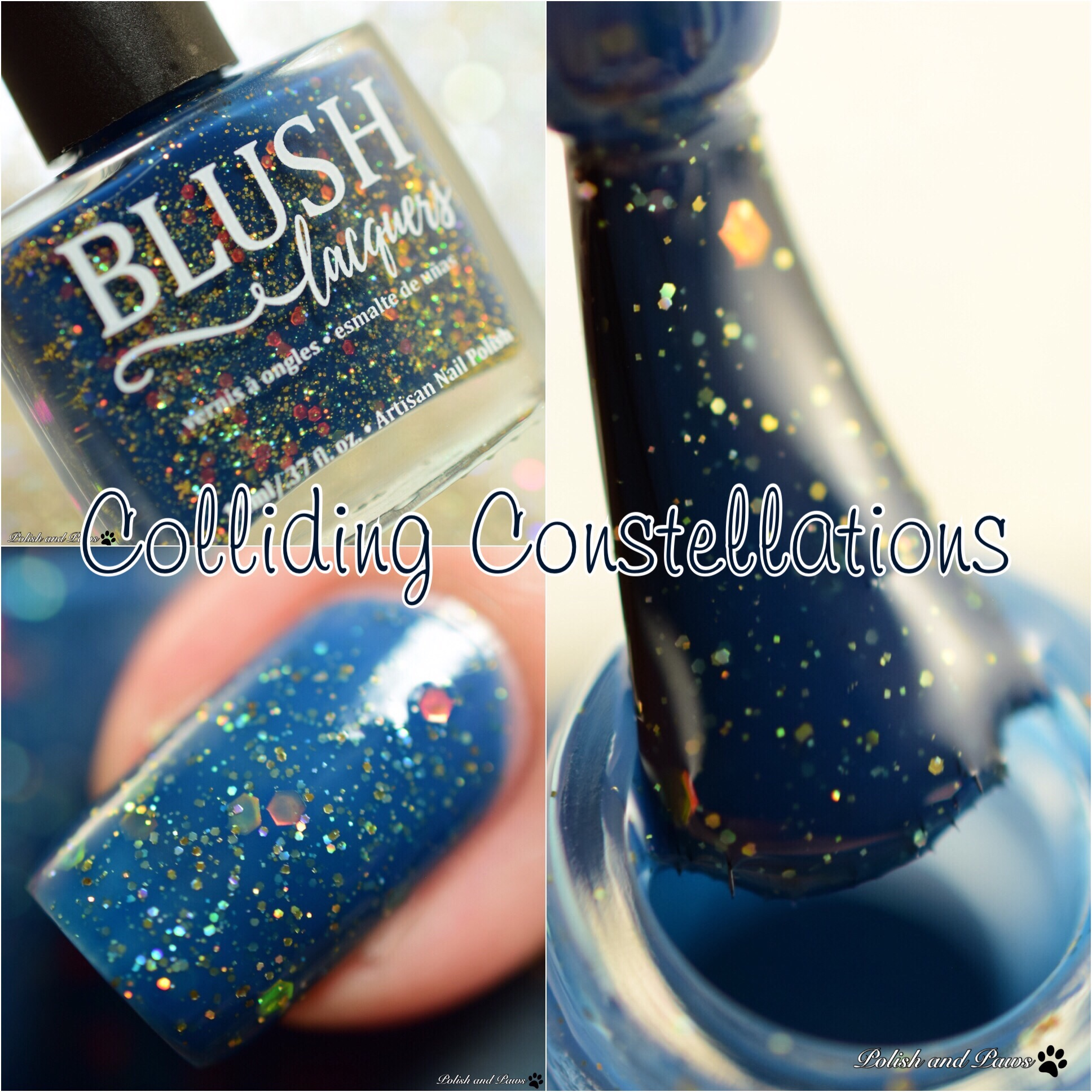 Blush Lacquers Colliding Constellations
