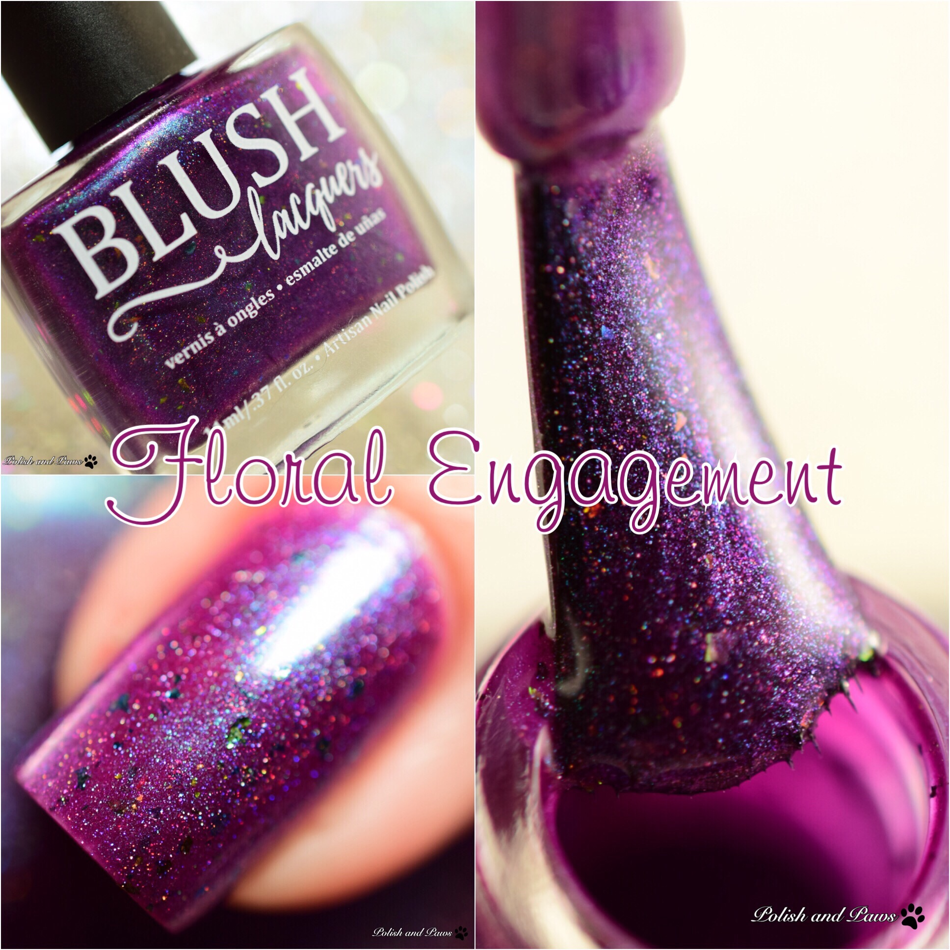 Blush Lacquers Floral Engagement