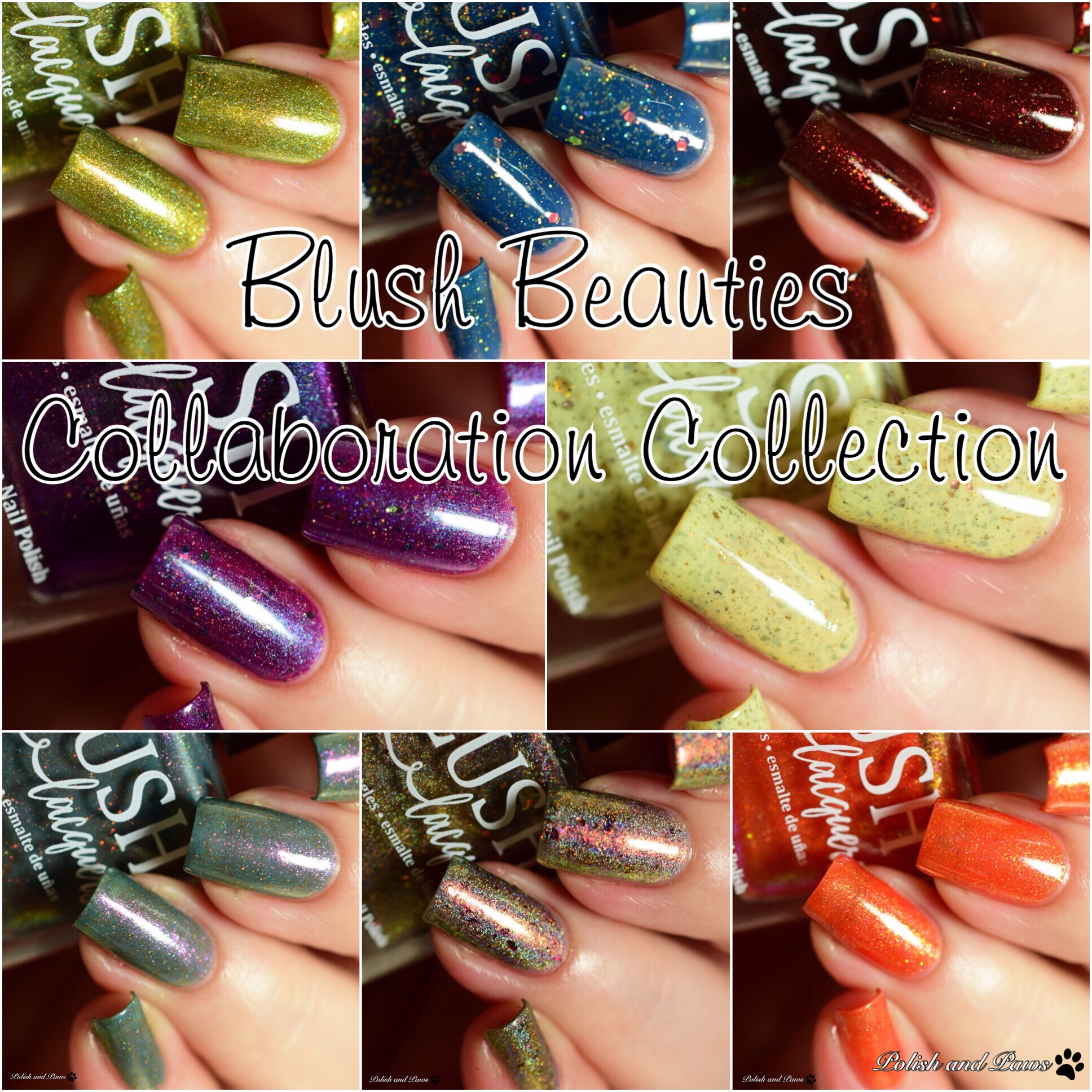 Blush Lacquers Blush Beauties Collaboration Collection