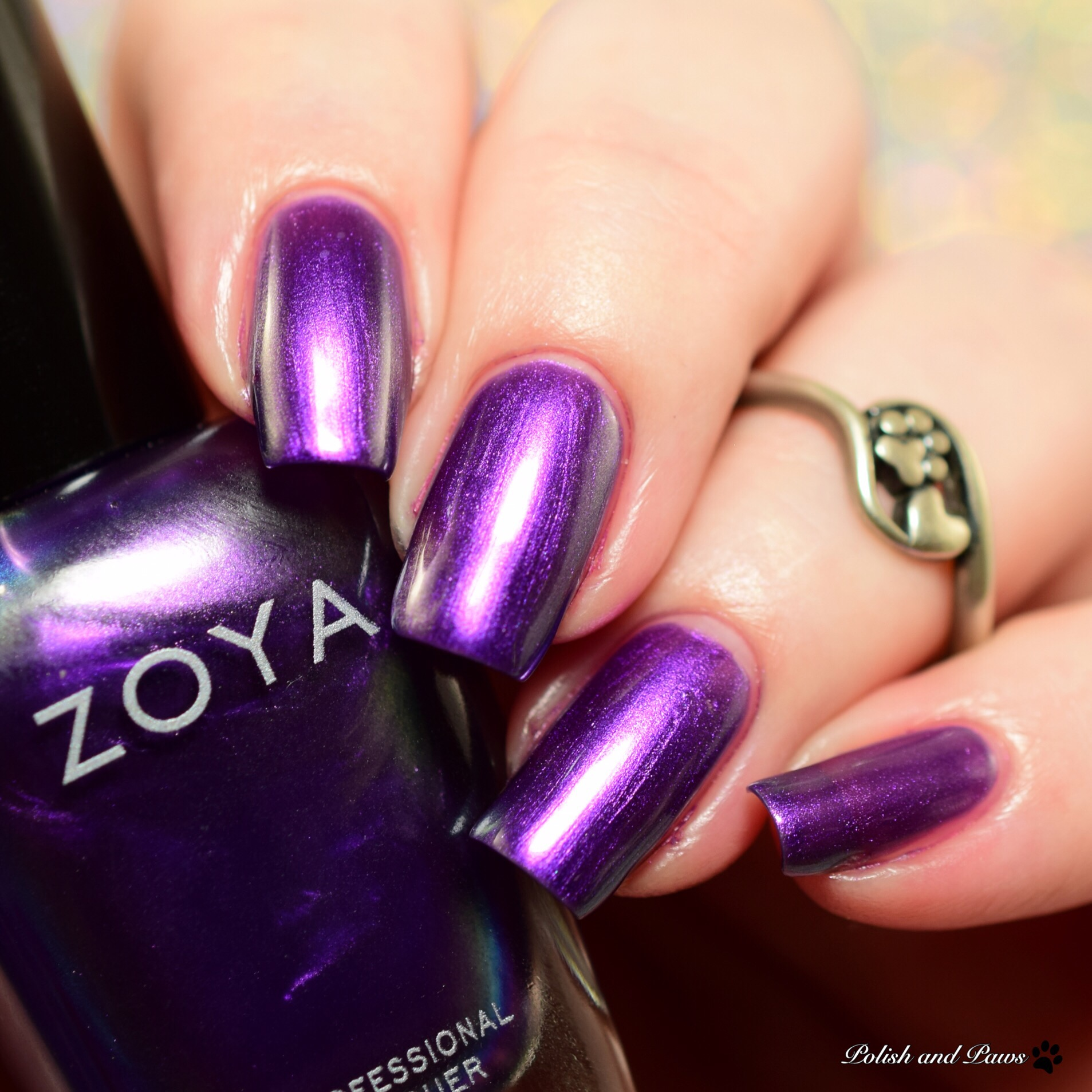 Zoya Party Girls Holiday Winter 2017 Polish And Paws