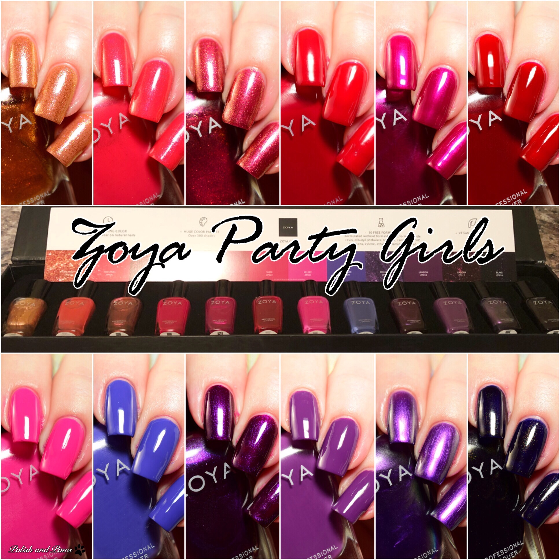 Zoya Party Girls Winter 2017