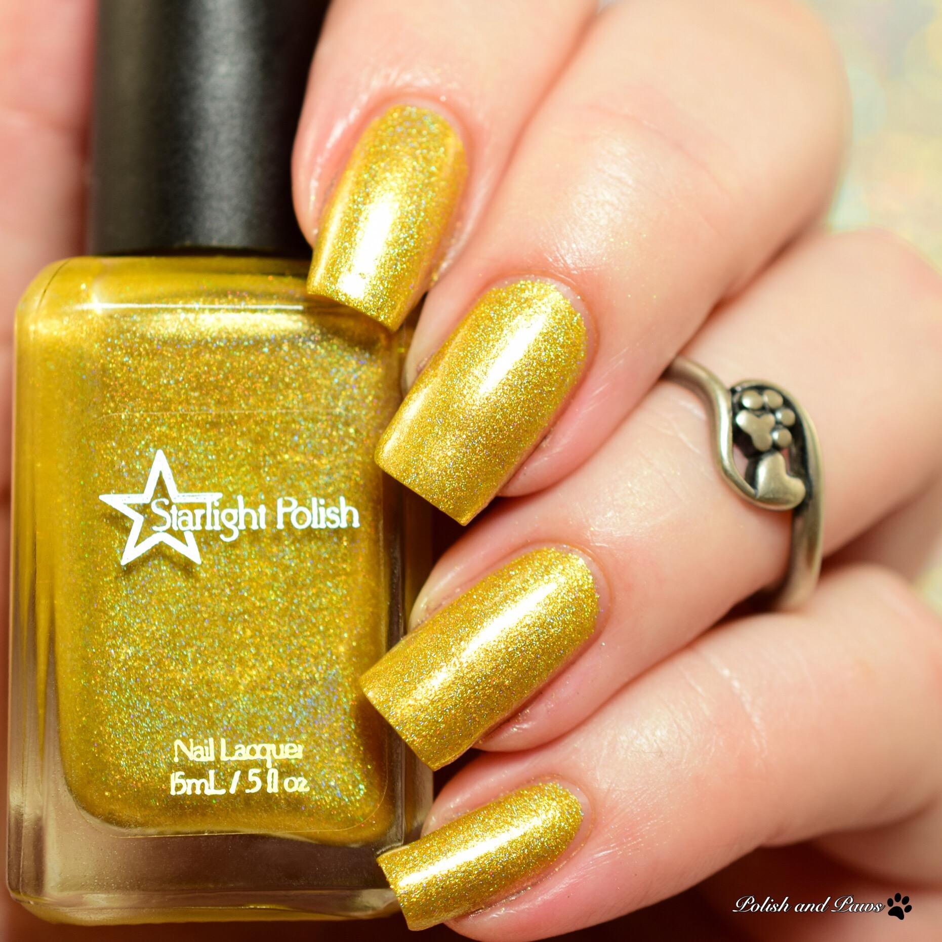 Starlight Polish Golden Rings