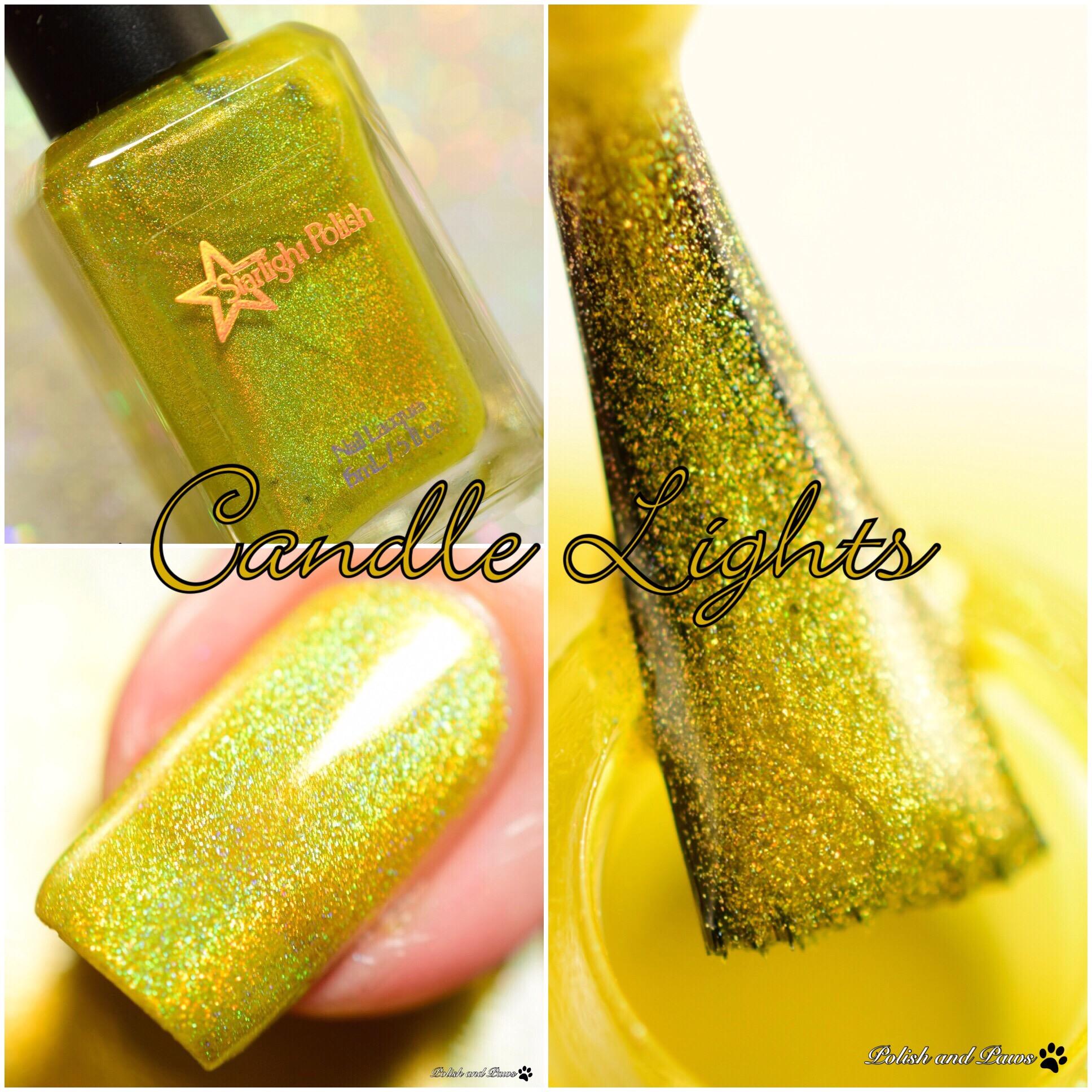 Starlight Polish Candle Lights