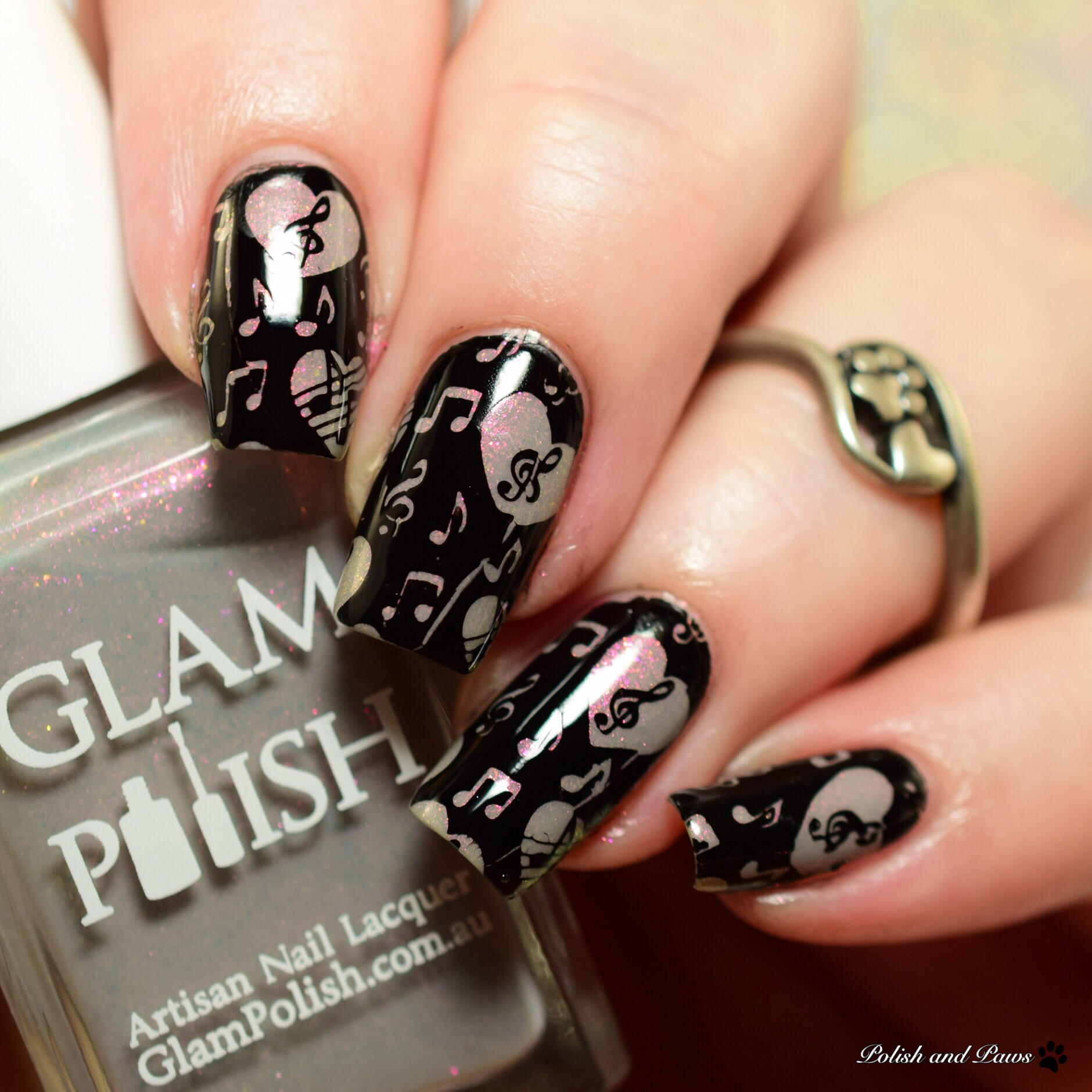 Glam Polish Magical Spells Nail Art